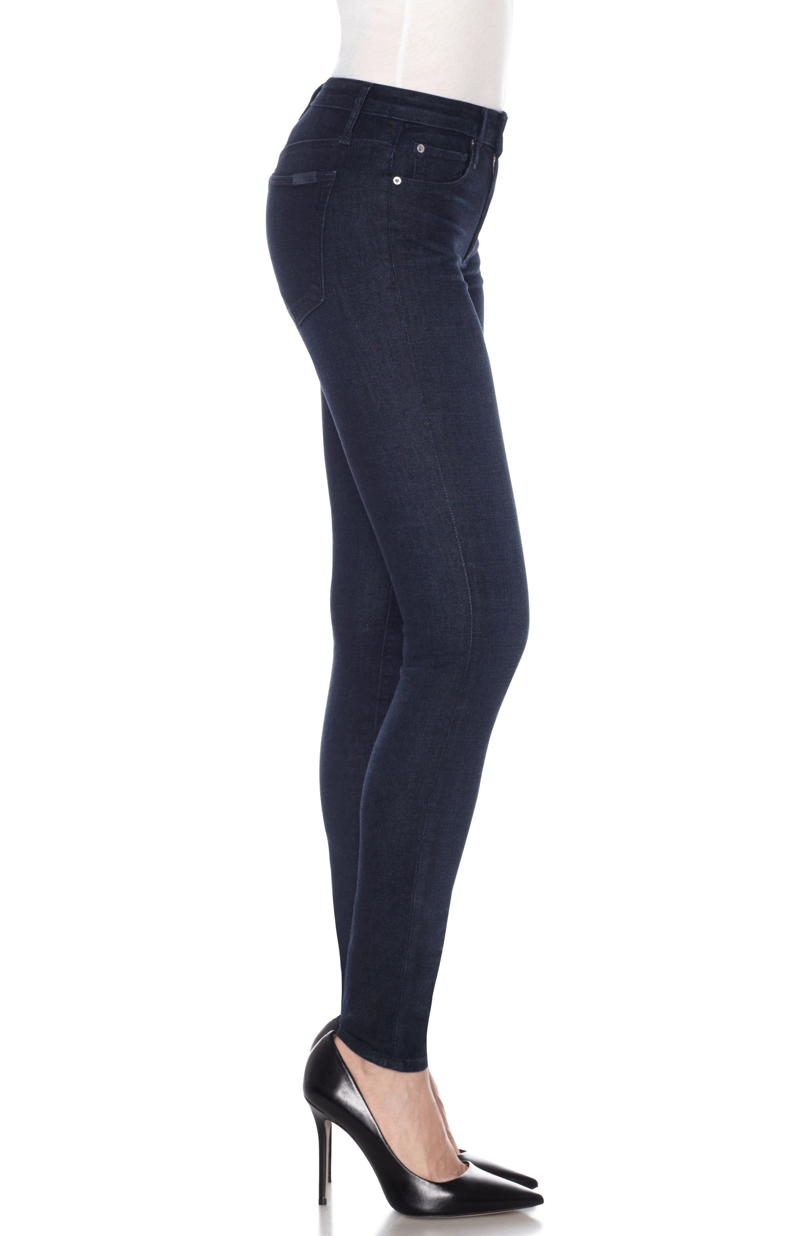 Flawless - Twiggy Skinny Jeans,                             Alternate thumbnail 3, color,                             400