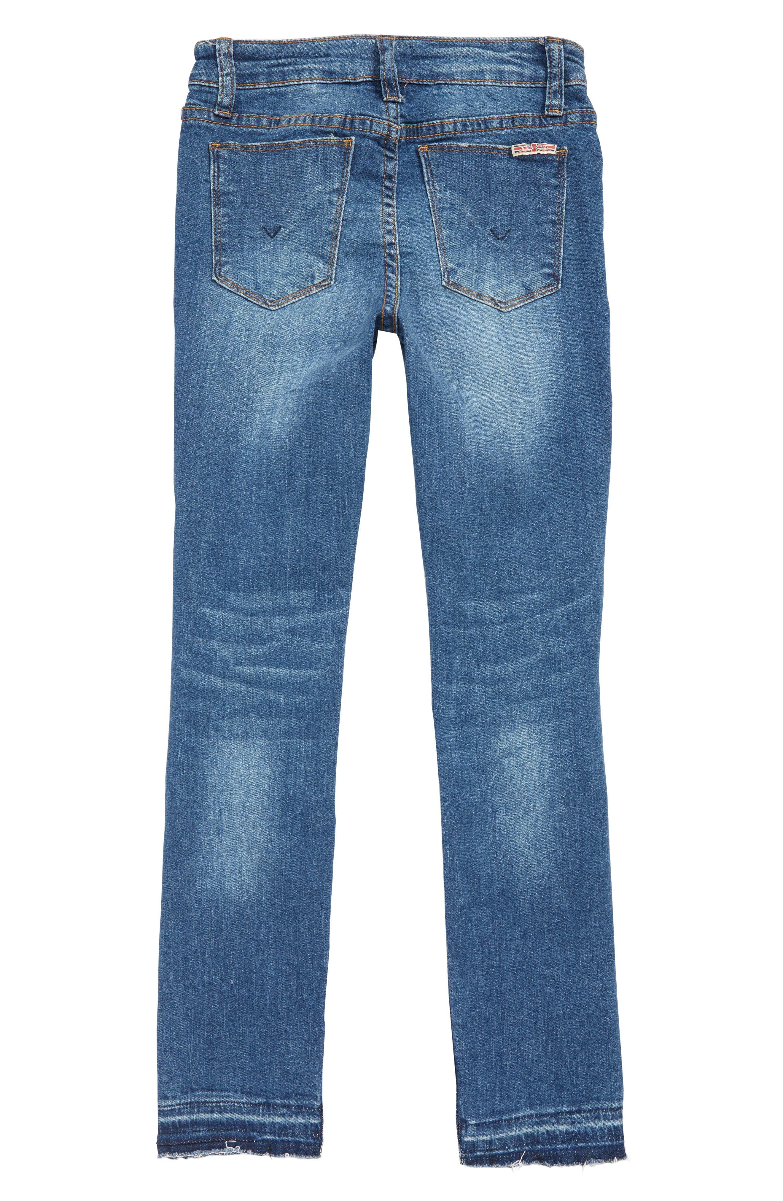 Deja Ripped Crop Jeans,                             Alternate thumbnail 2, color,                             464