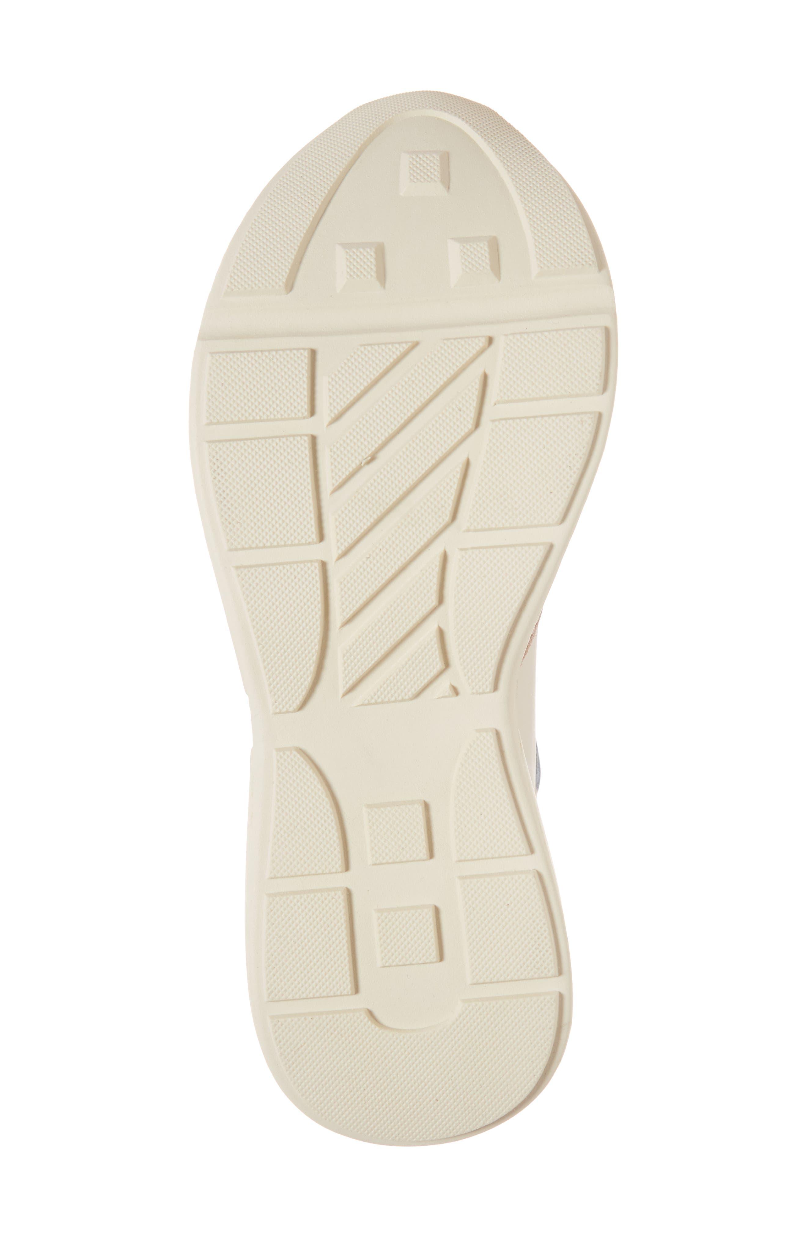 Memory Platform Wedge Sneaker,                             Alternate thumbnail 6, color,                             PINK MULTI