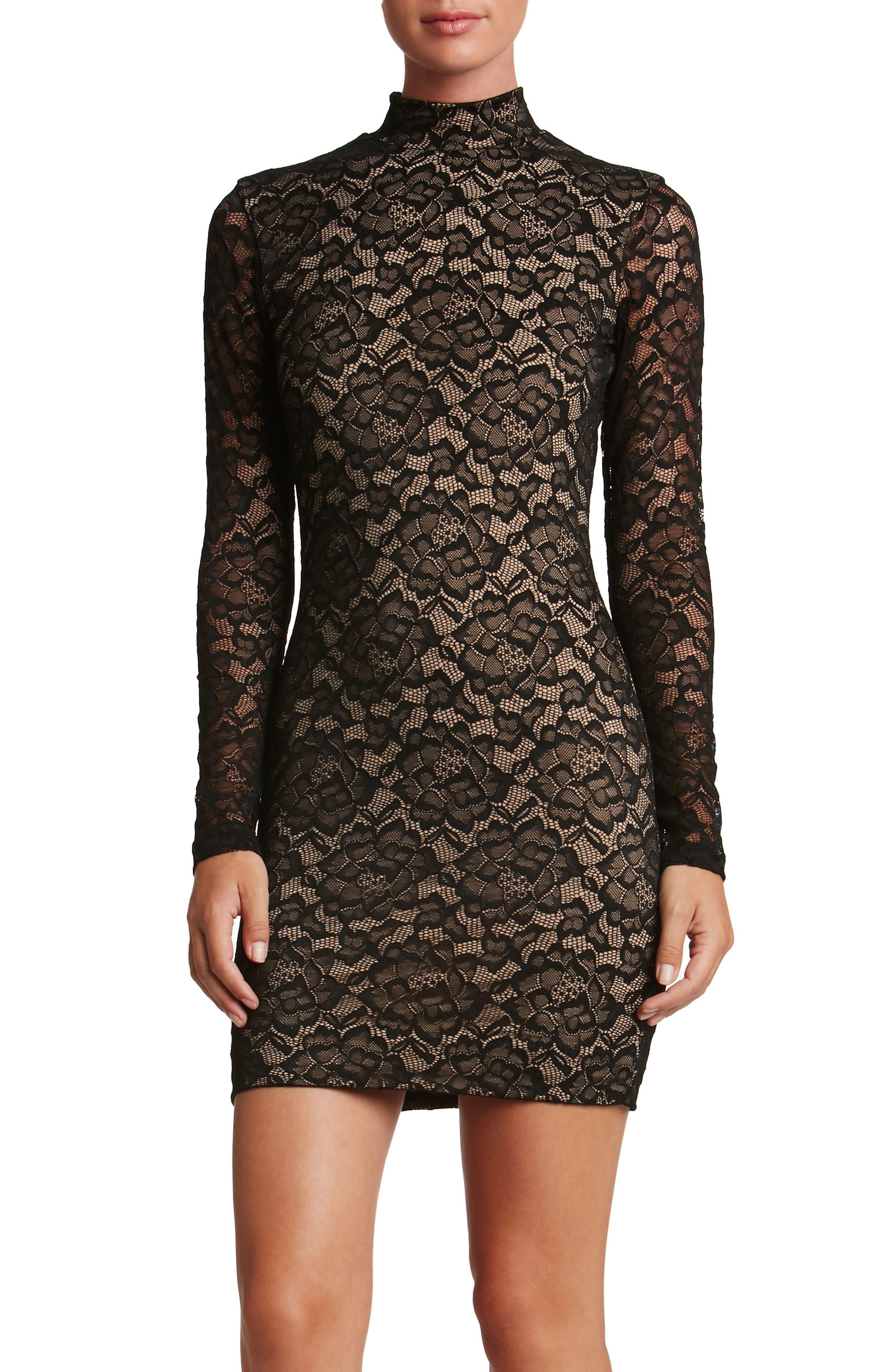 Penelope Body-Con Dress,                         Main,                         color, 002
