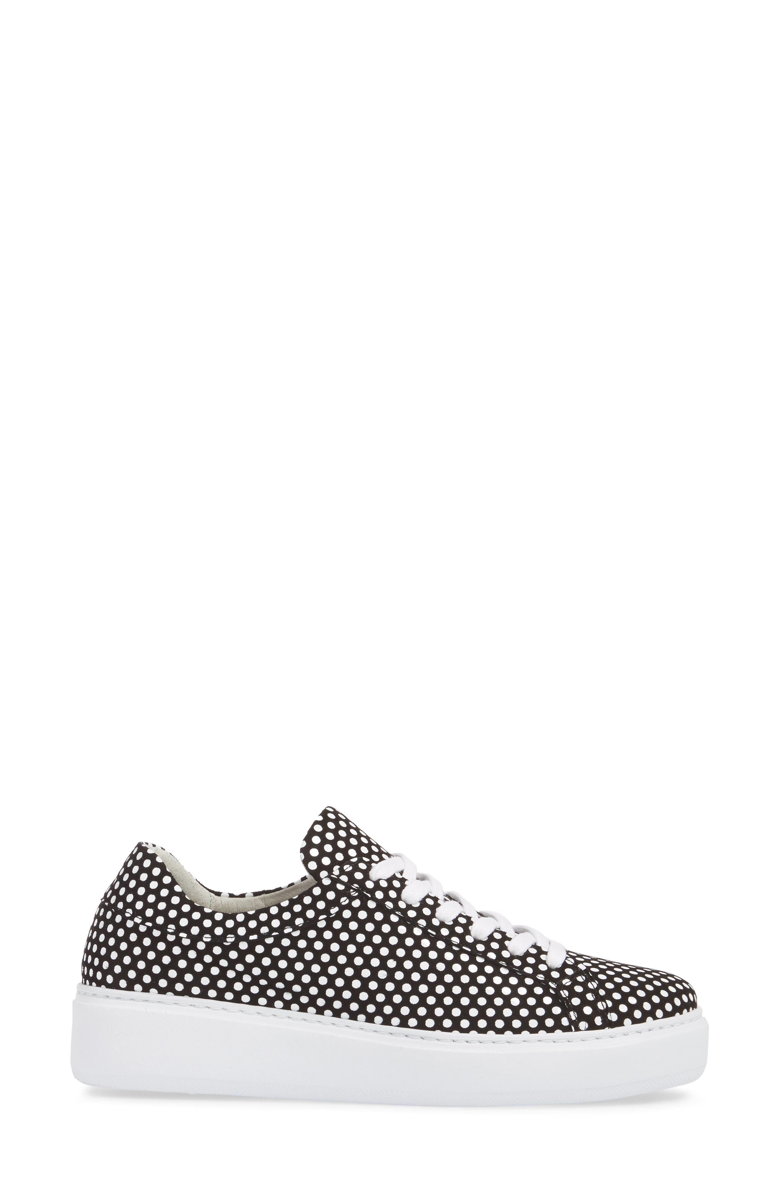 Tully Sneaker,                             Alternate thumbnail 3, color,                             POP SUPREME LEATHER