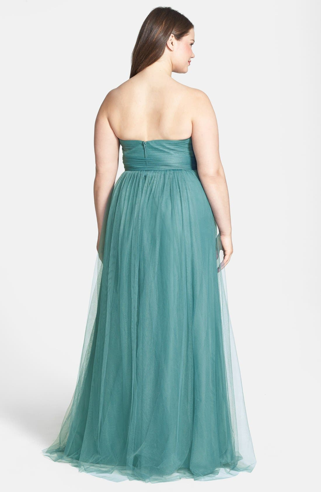 Annabelle Convertible Tulle Column Dress,                             Alternate thumbnail 106, color,