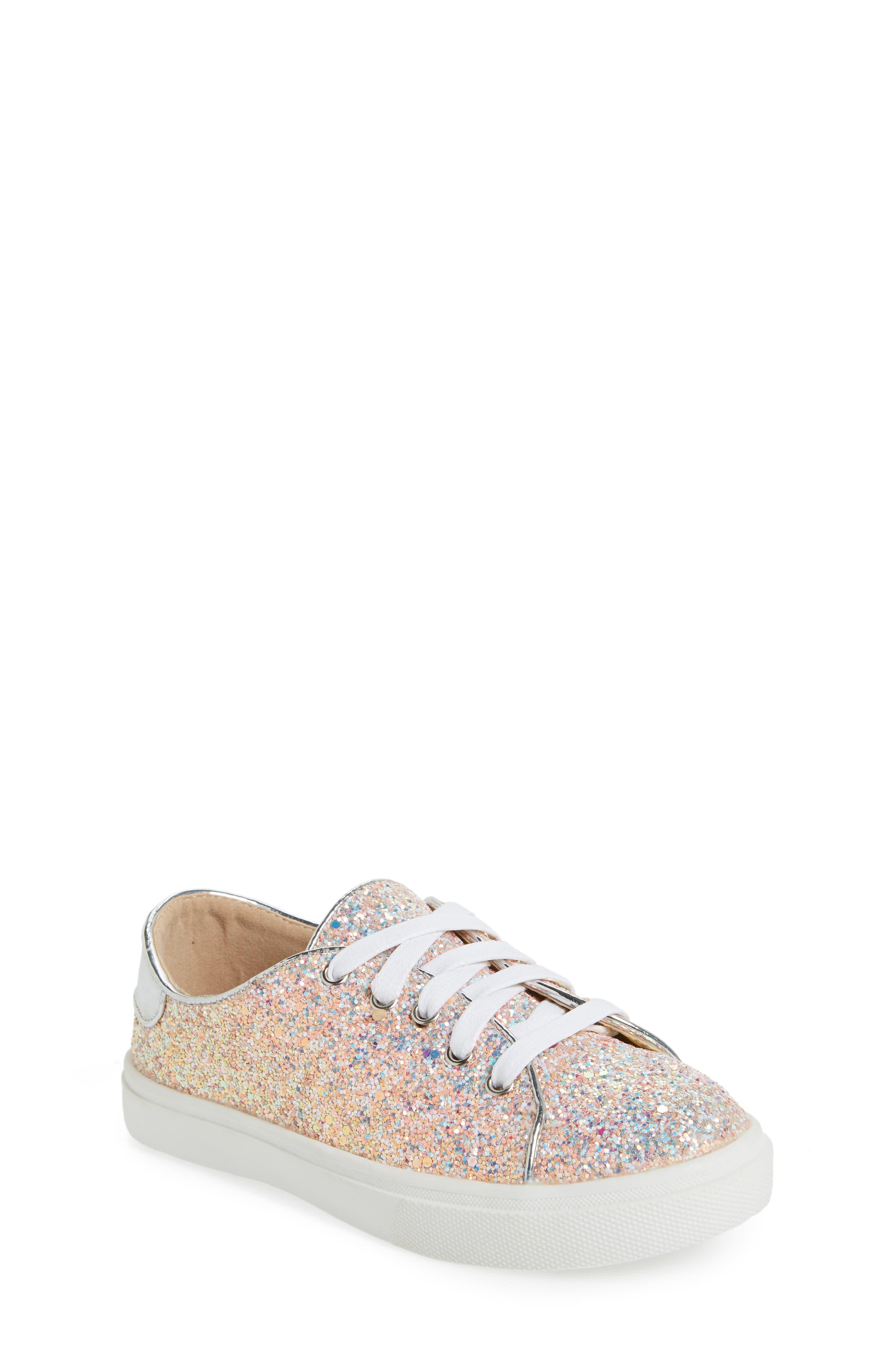 YOSI SAMRA,                             Miss Bowery Glitter Sneaker,                             Main thumbnail 1, color,                             182