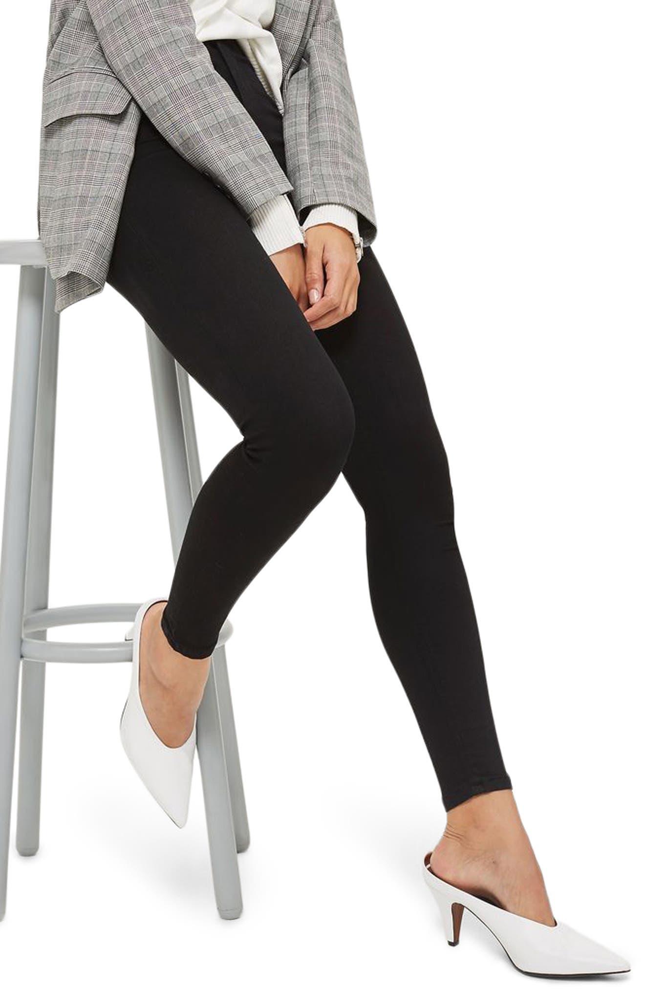 Joni High Waist Skinny Jeans,                         Main,                         color, BLACK