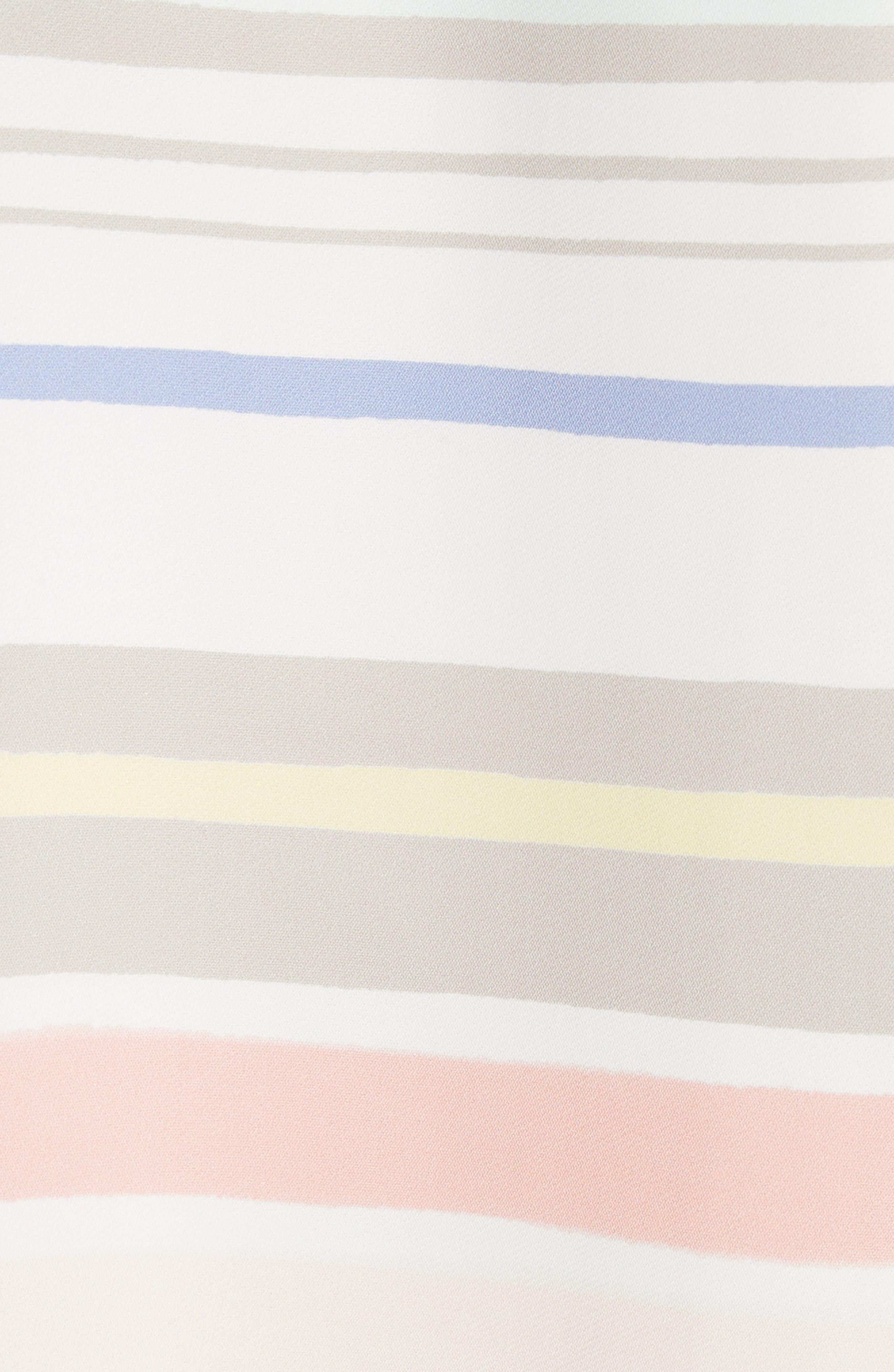 Winston Stripe Blouse,                             Alternate thumbnail 5, color,                             299