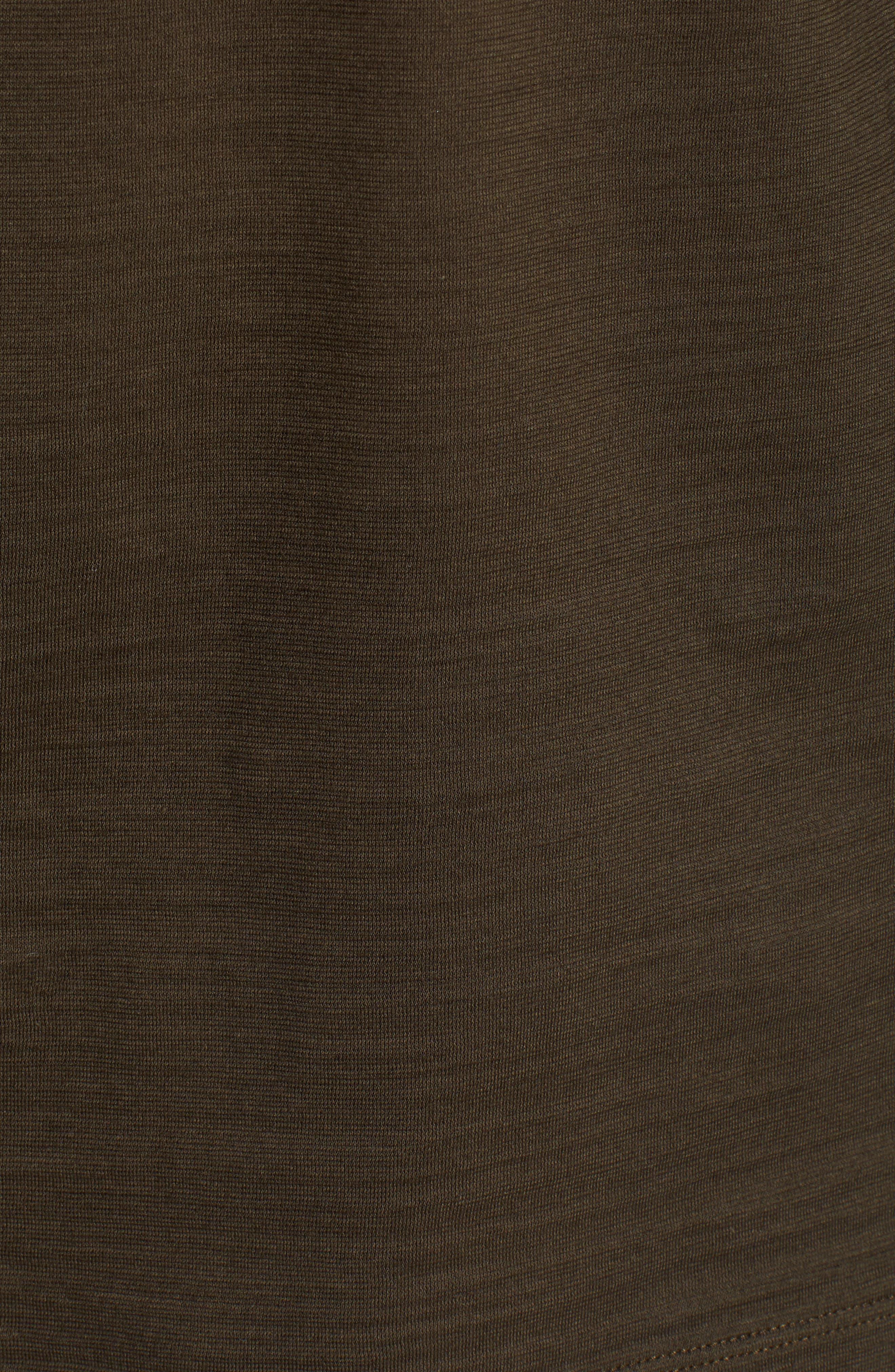 Tenison Long Sleeve Crewneck T-Shirt,                             Alternate thumbnail 5, color,                             DARK GREEN