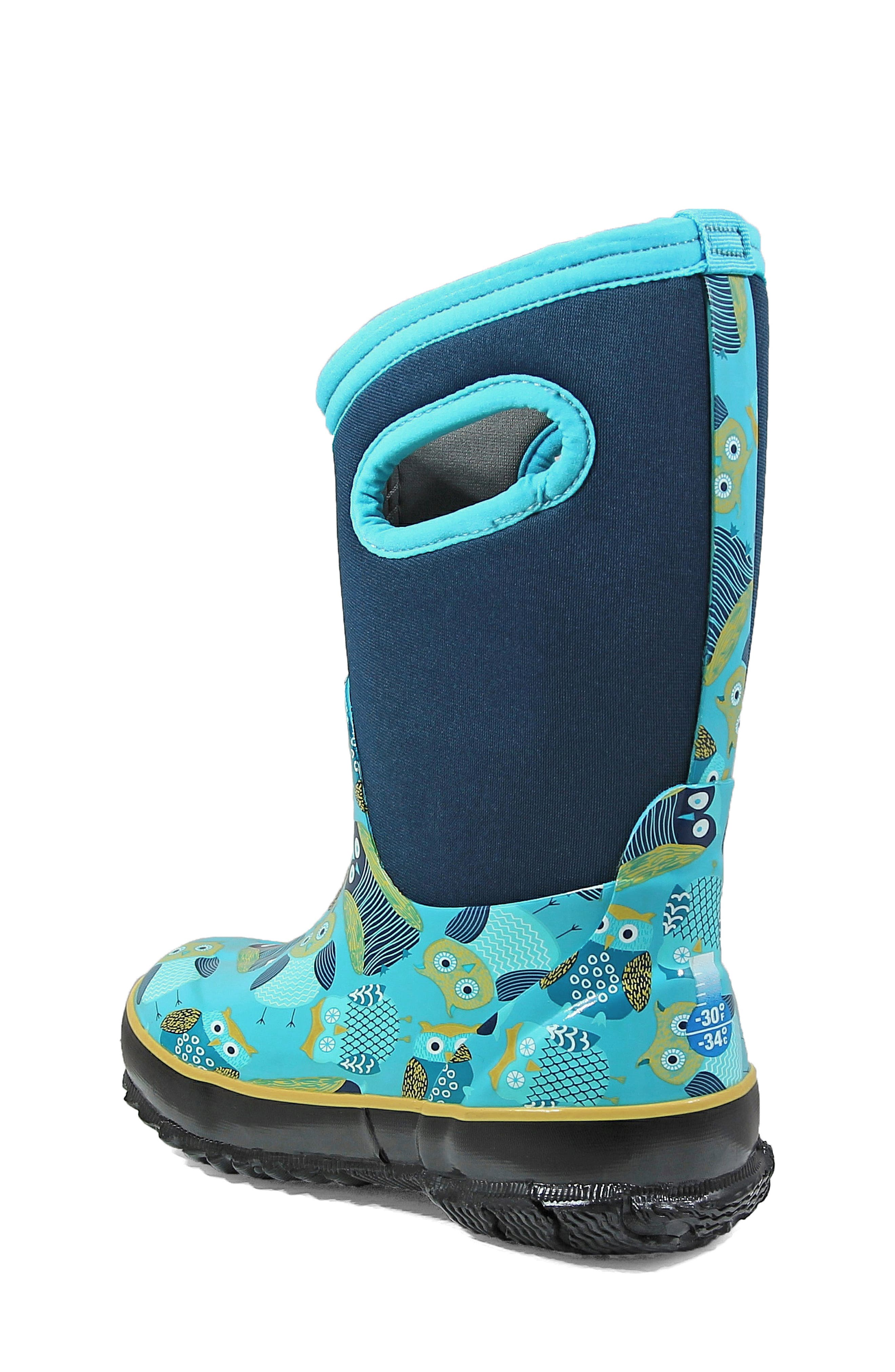 Classic Insulated Waterproof Owl Boot,                             Alternate thumbnail 2, color,                             460