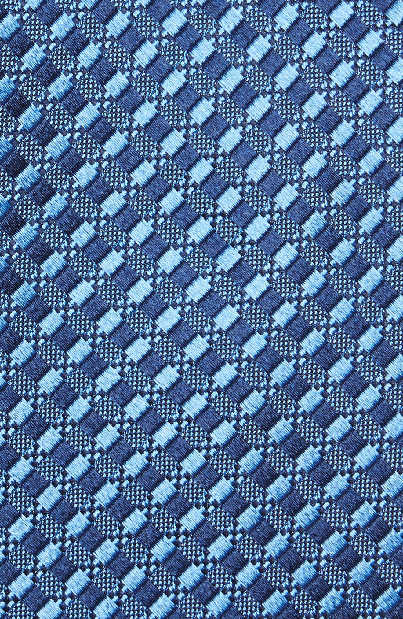 Nathan Neat Silk Tie,                             Alternate thumbnail 2, color,                             NAVY