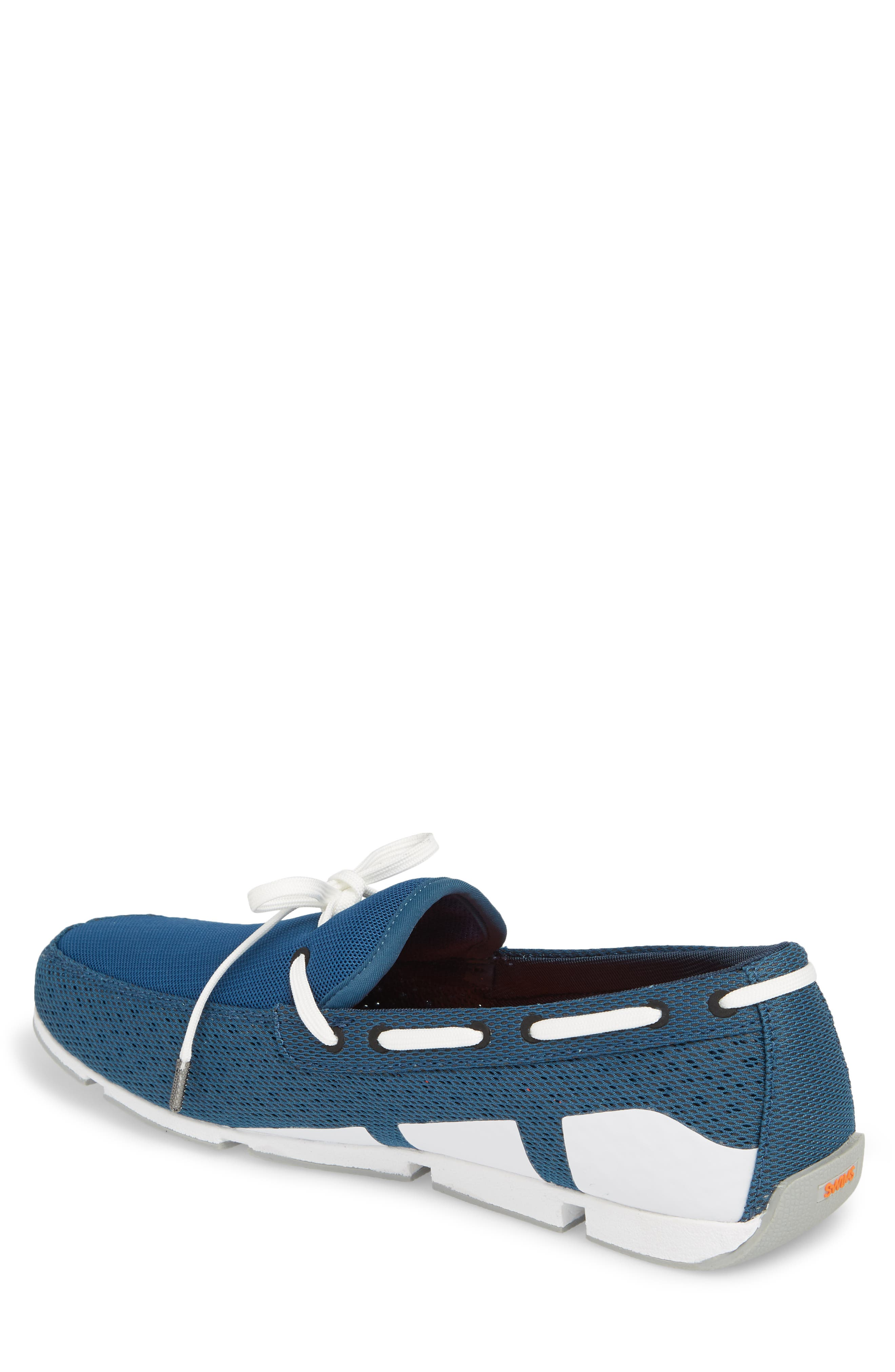 Breeze Loafer,                             Alternate thumbnail 2, color,                             BLUE/ WHITE