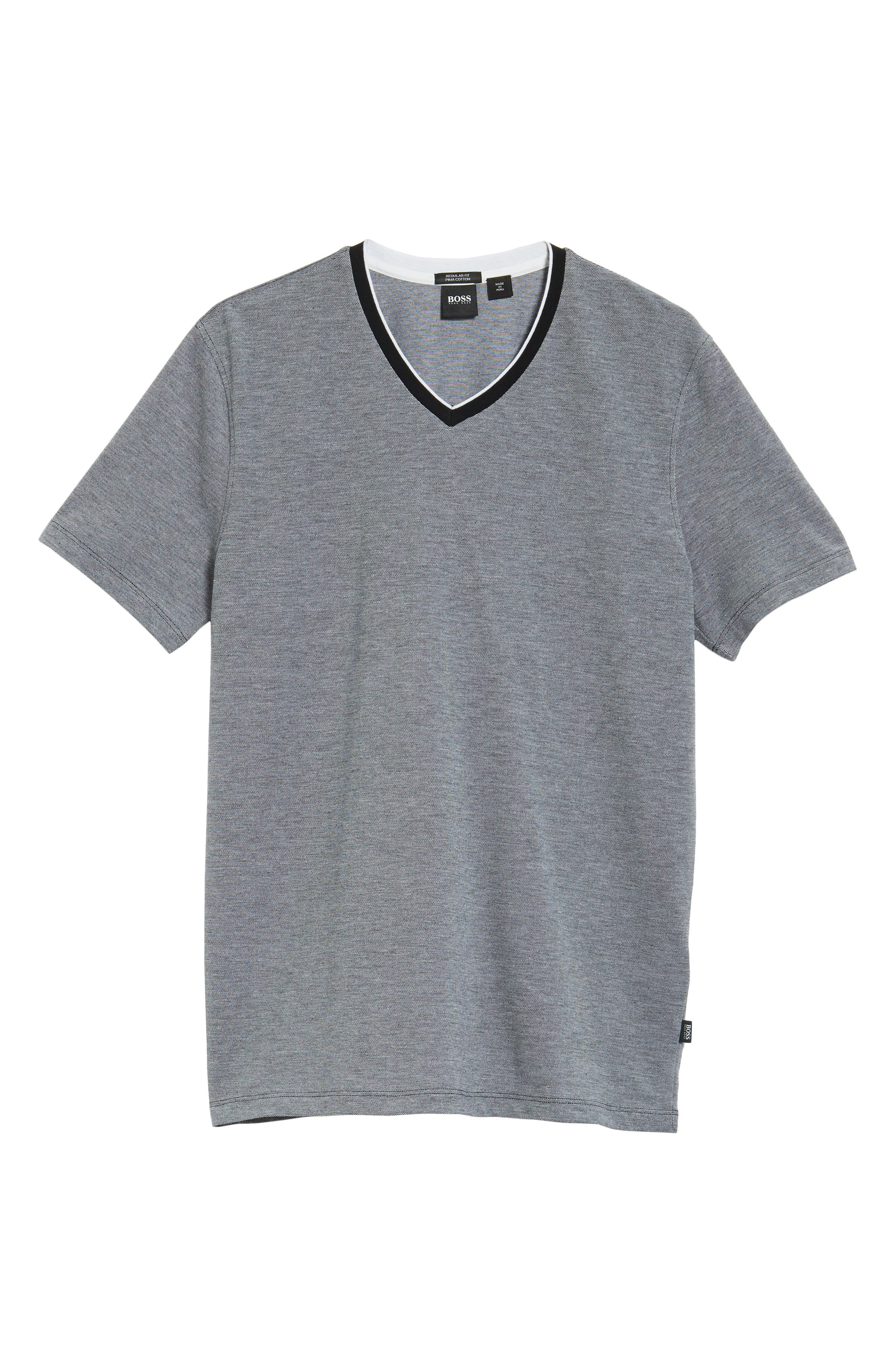 TIlson Regular Fit T-Shirt,                             Alternate thumbnail 6, color,                             BLACK