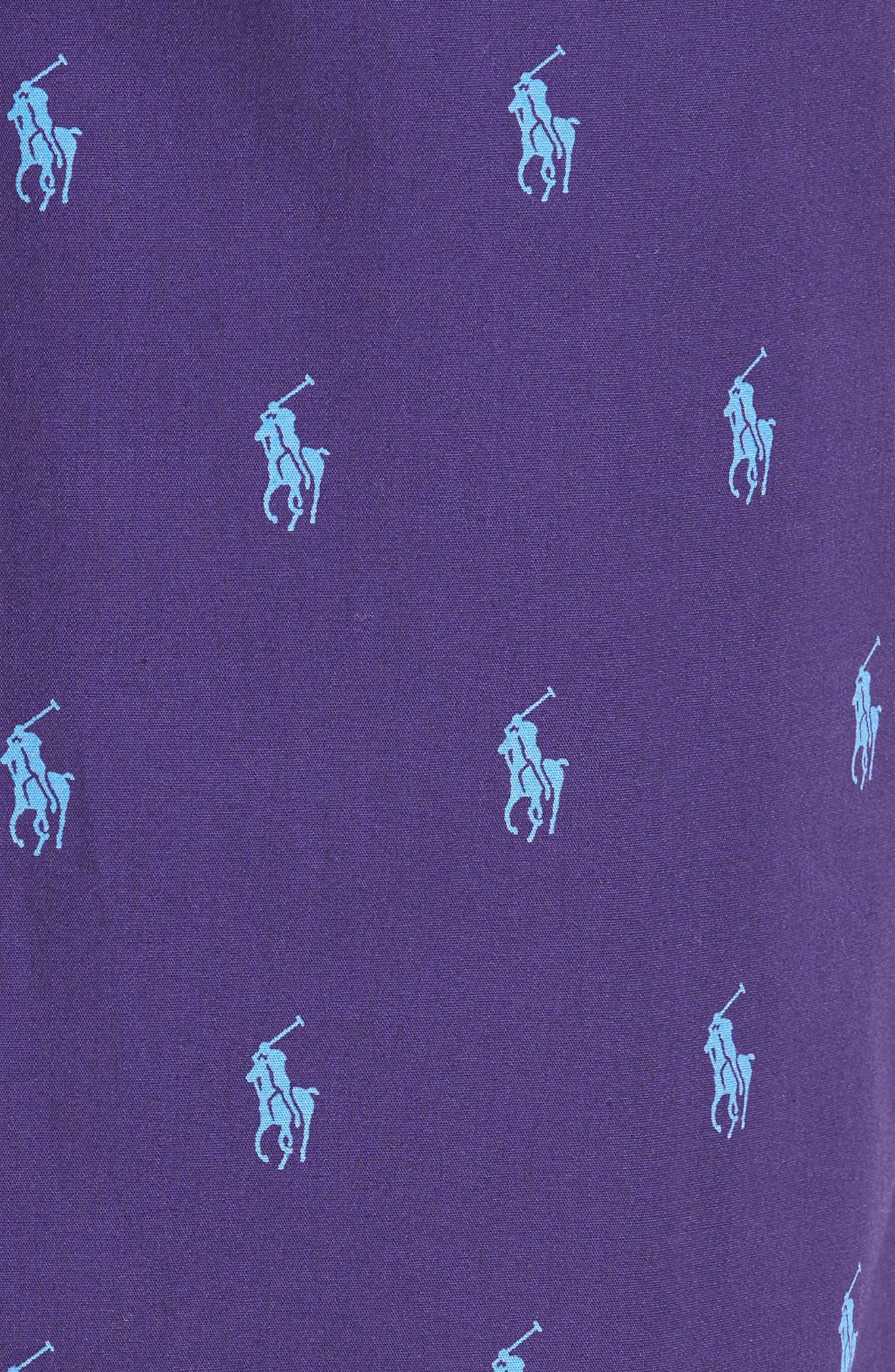 Polo Ralph Lauren Cotton Lounge Pants,                             Alternate thumbnail 24, color,
