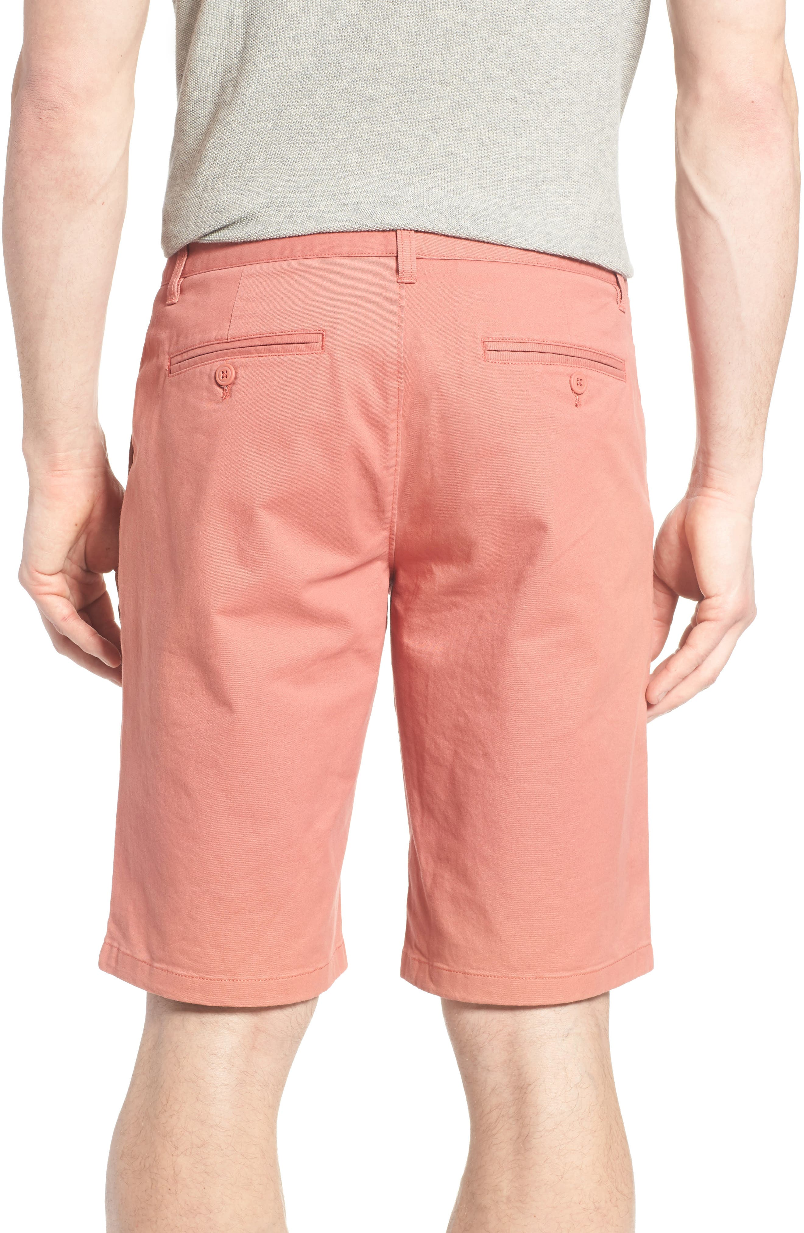 Stretch Washed Chino 11-Inch Shorts,                             Alternate thumbnail 42, color,