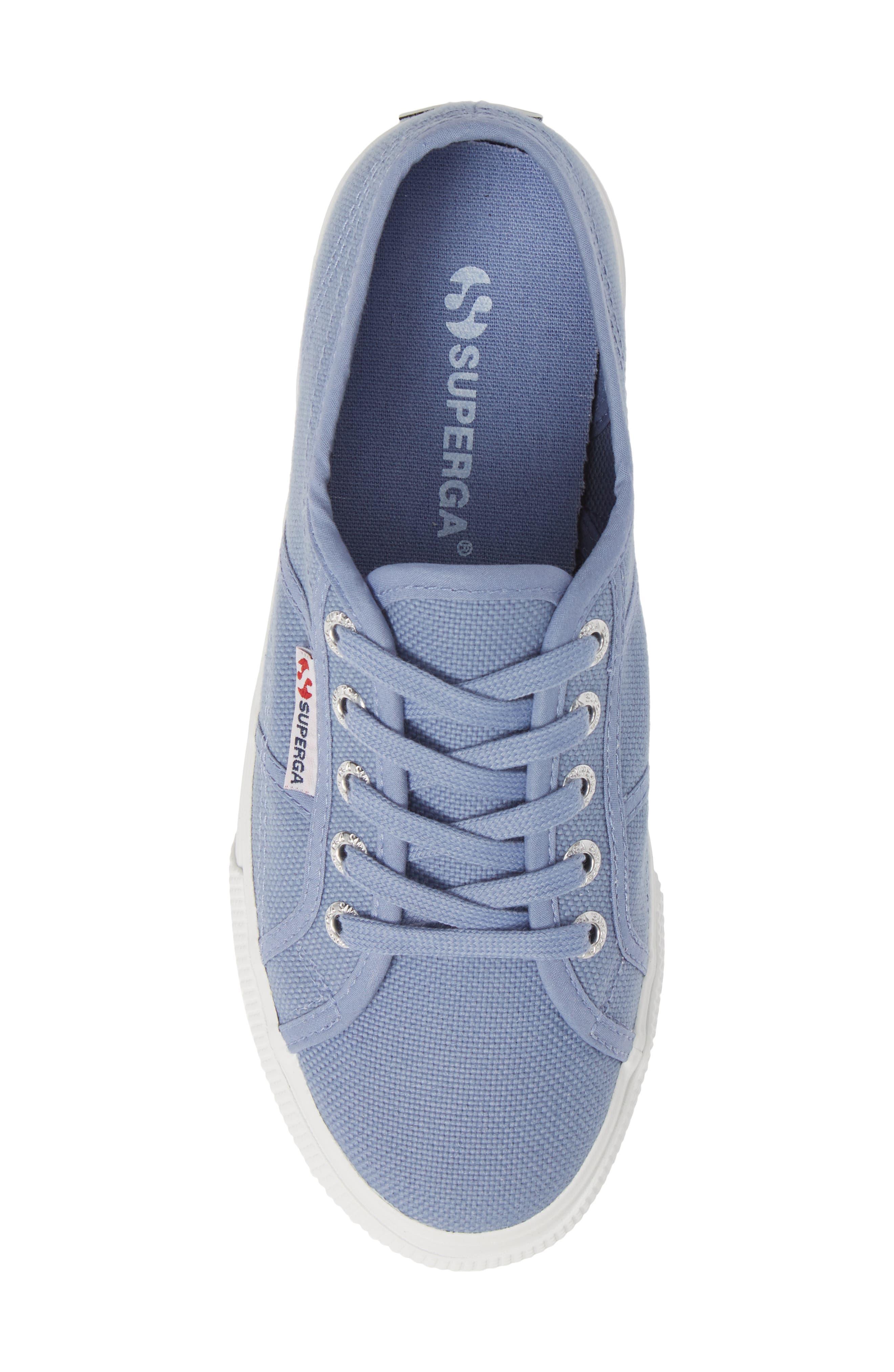 'Acot Linea' Sneaker,                             Alternate thumbnail 5, color,                             BLUE/ LIGHT PURPLE