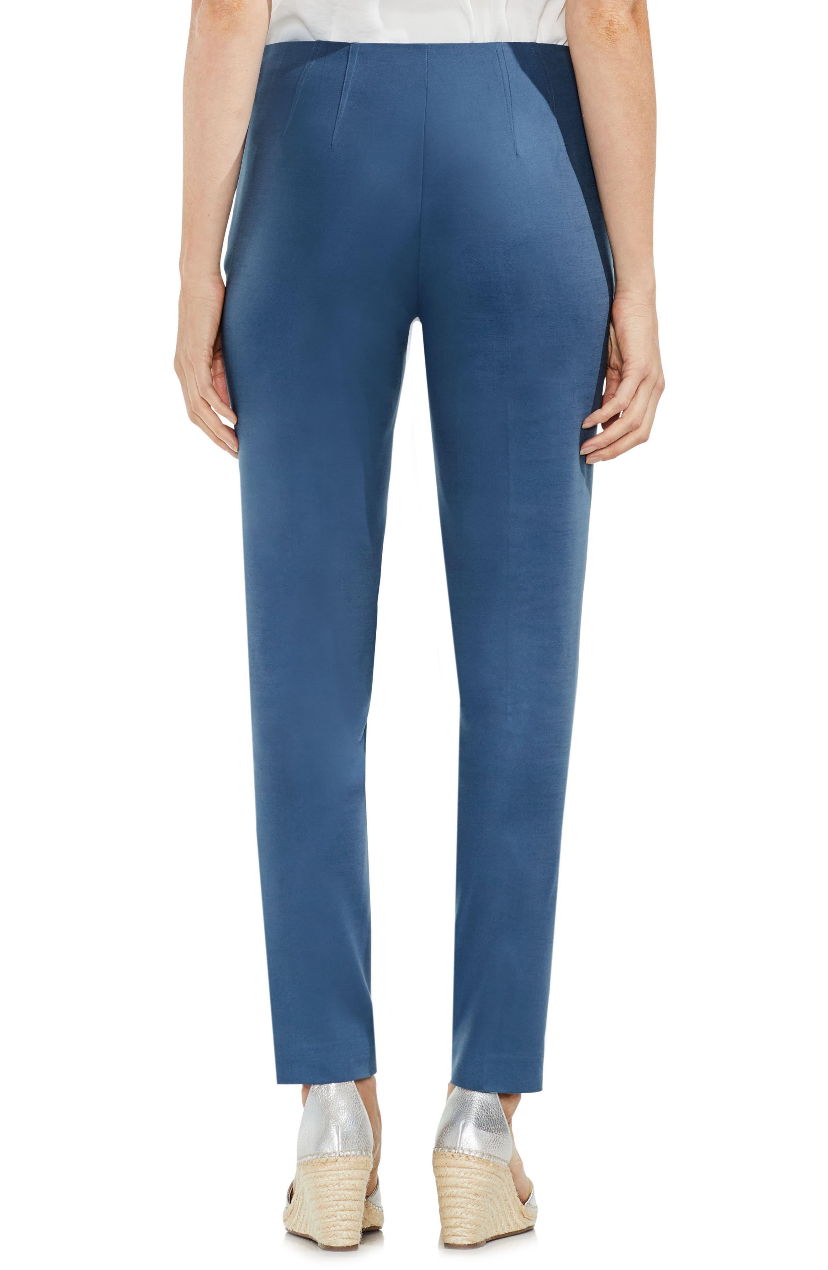 Side Zip Double Weave Pants,                             Alternate thumbnail 23, color,