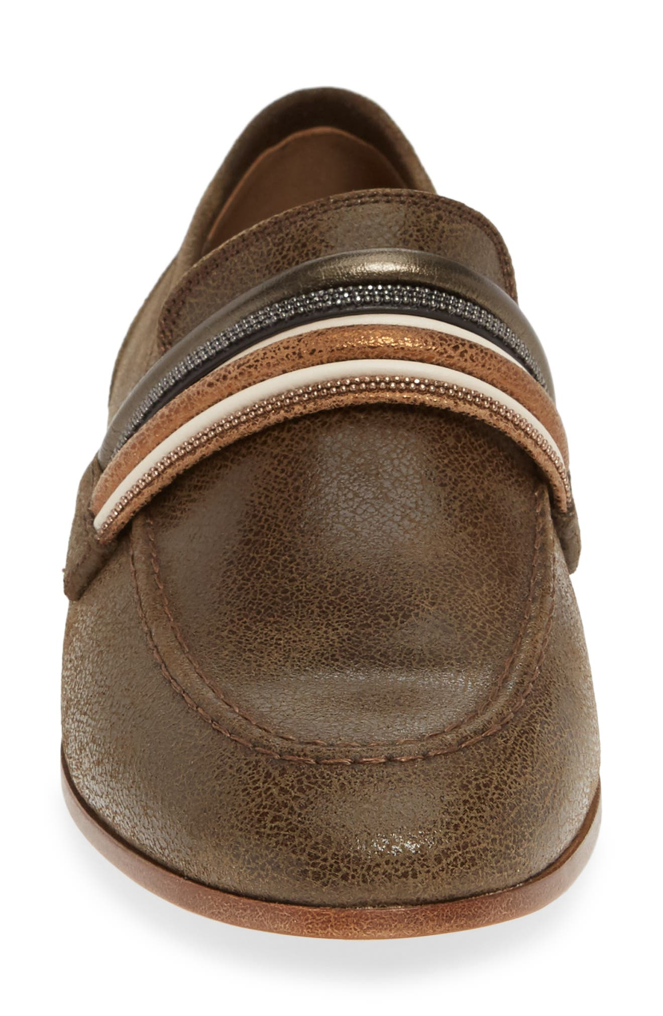 Tubular Loafer,                             Alternate thumbnail 4, color,                             MUD BROWN