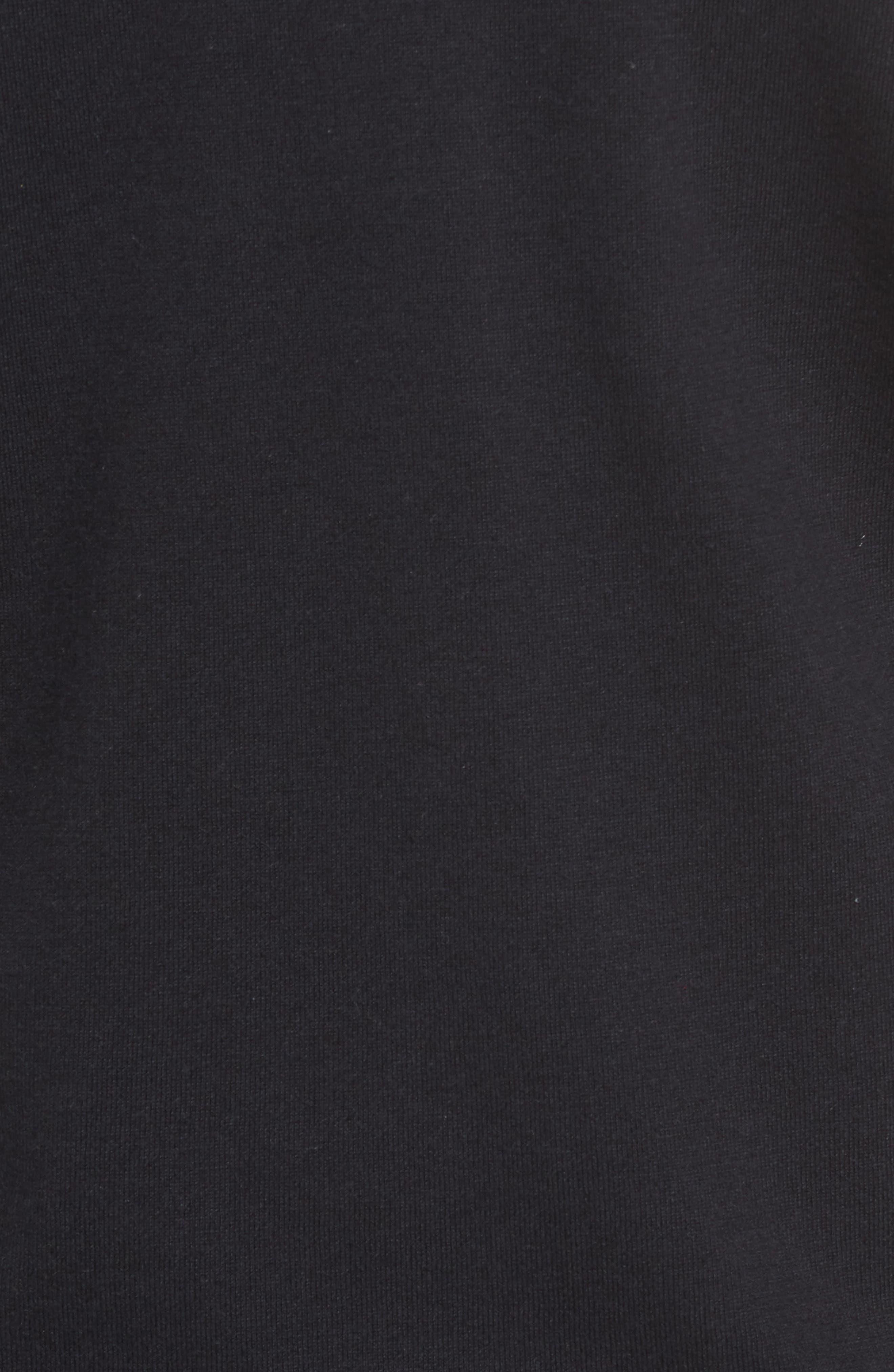 Patterson Zip Hybrid Jacket,                             Alternate thumbnail 5, color,                             001