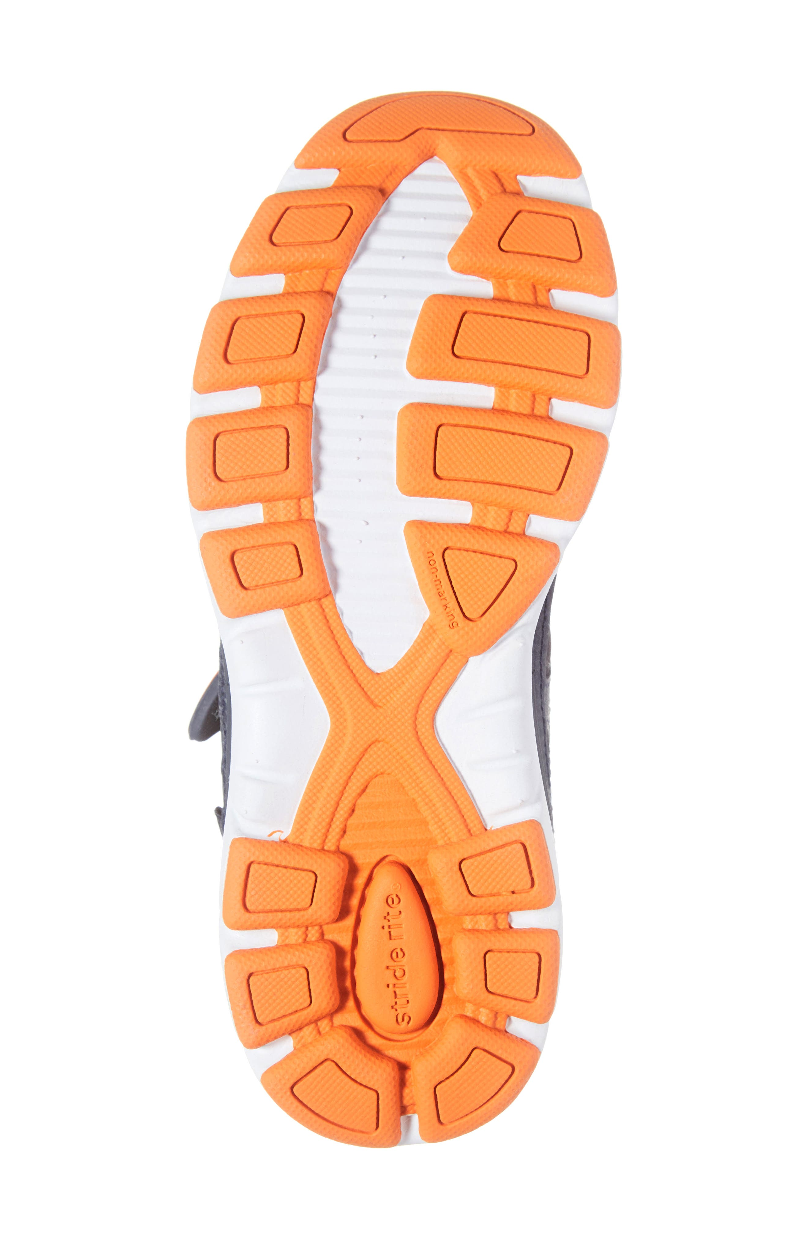 Made 2 Play Breccen Sneaker,                             Alternate thumbnail 6, color,                             NAVY/ ORANGE