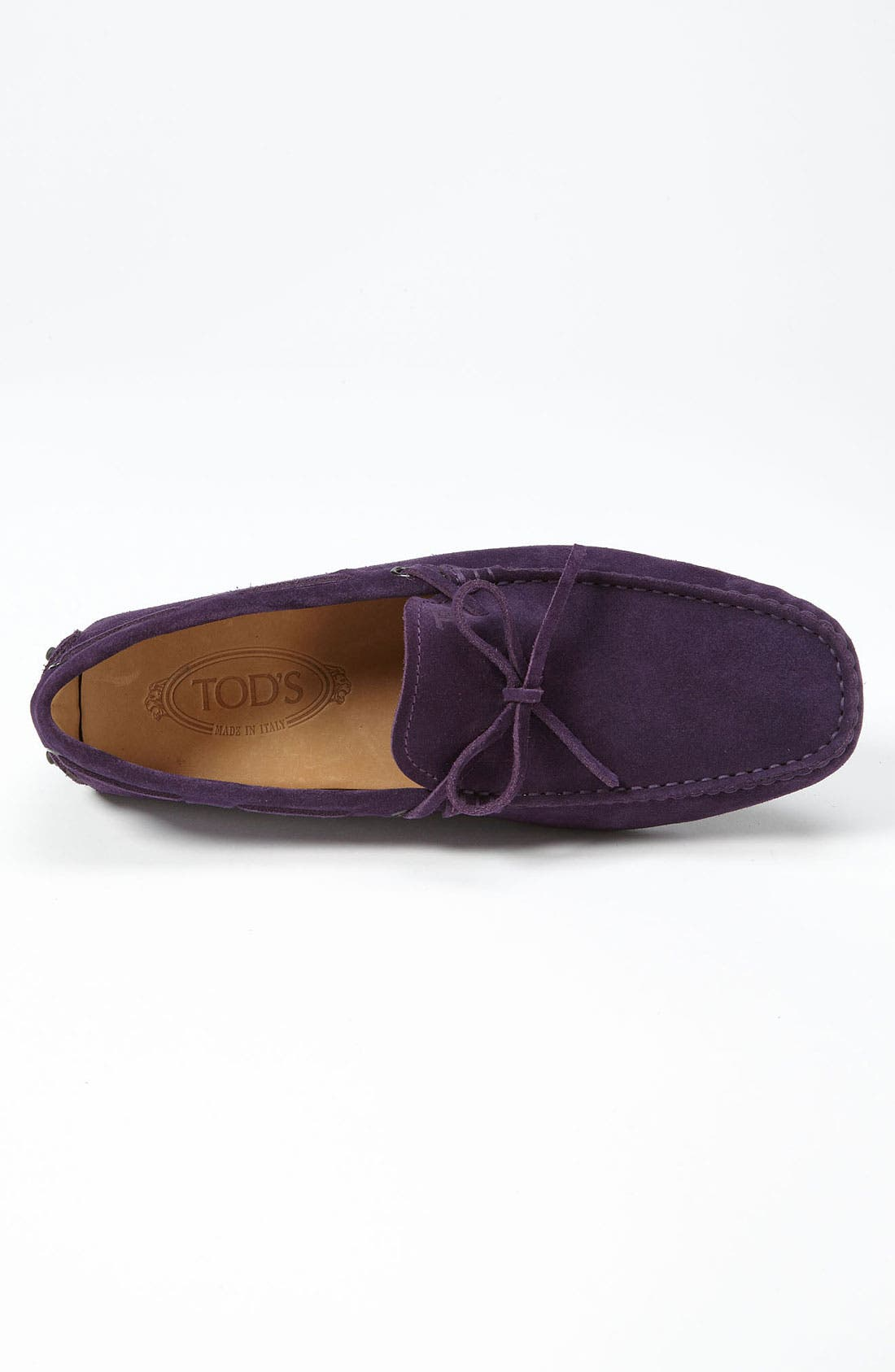 Gommini Tie Front Driving Moccasin,                             Alternate thumbnail 82, color,