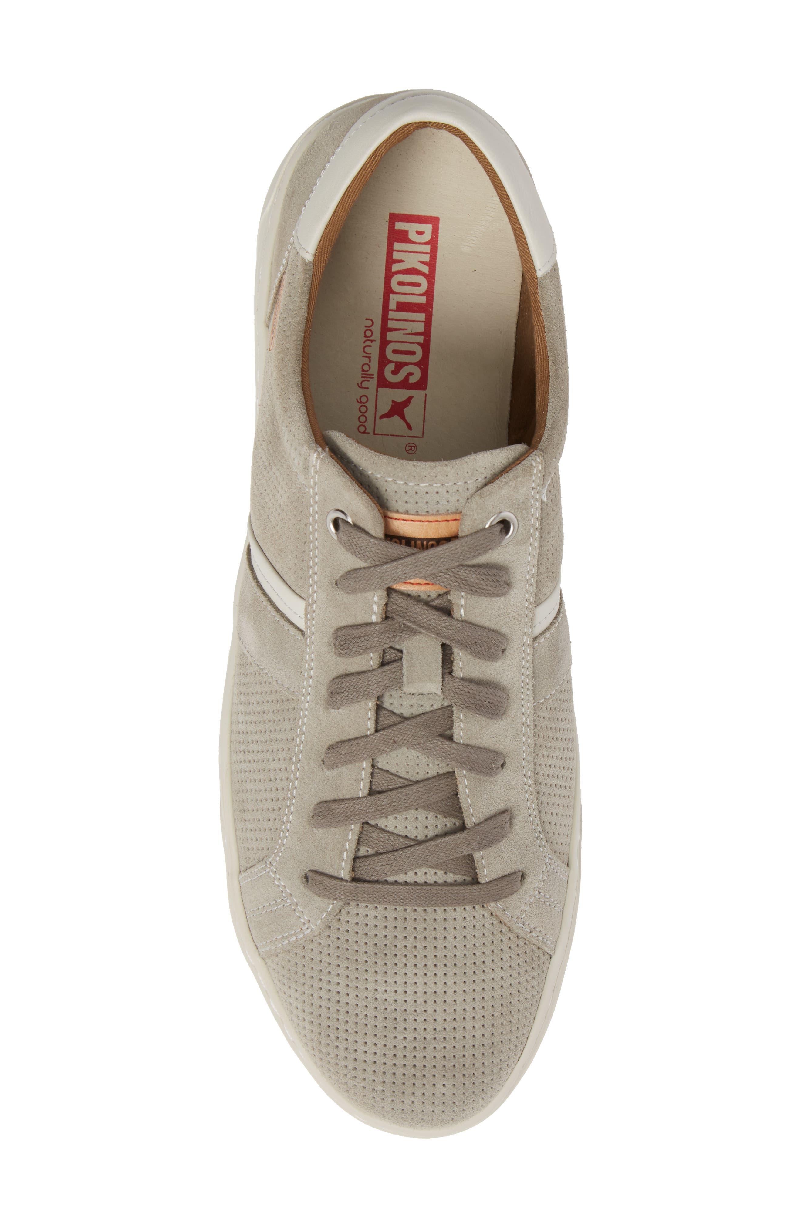 Belfort Perforated Sneaker,                             Alternate thumbnail 5, color,                             020