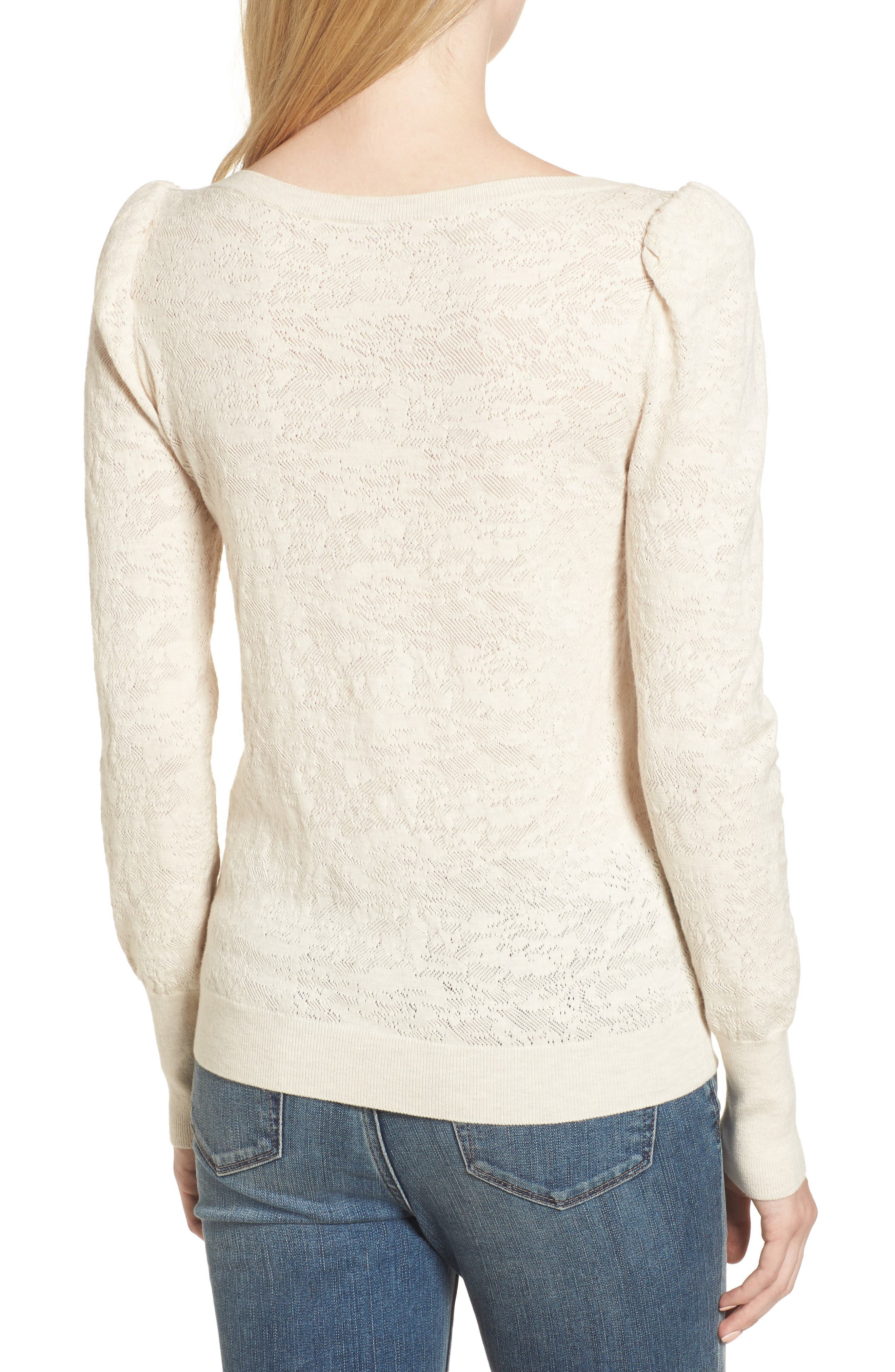 Puff Sleeve Pullover,                             Alternate thumbnail 2, color,                             250