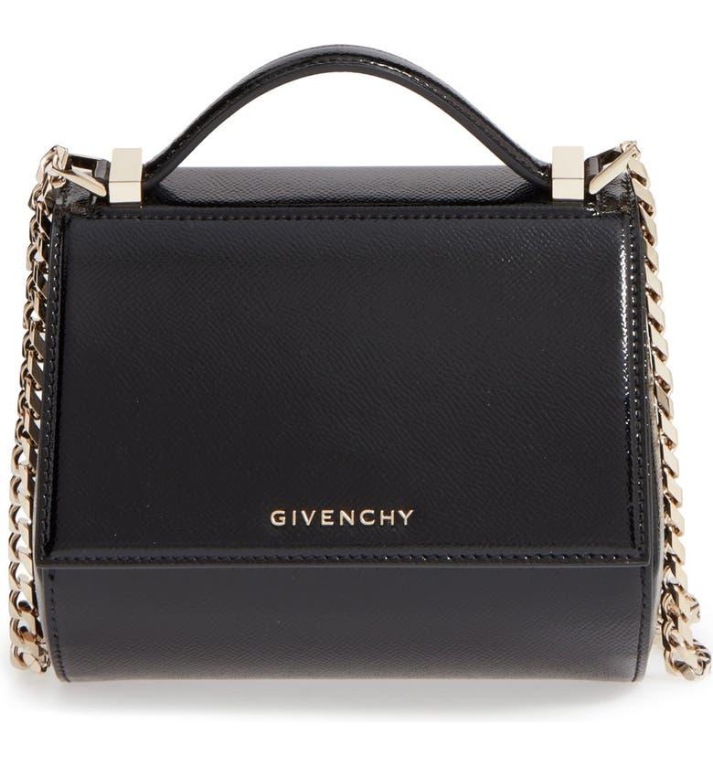 b8fa74afd6e2 Givenchy  Mini Pandora Box  Leather Shoulder Bag