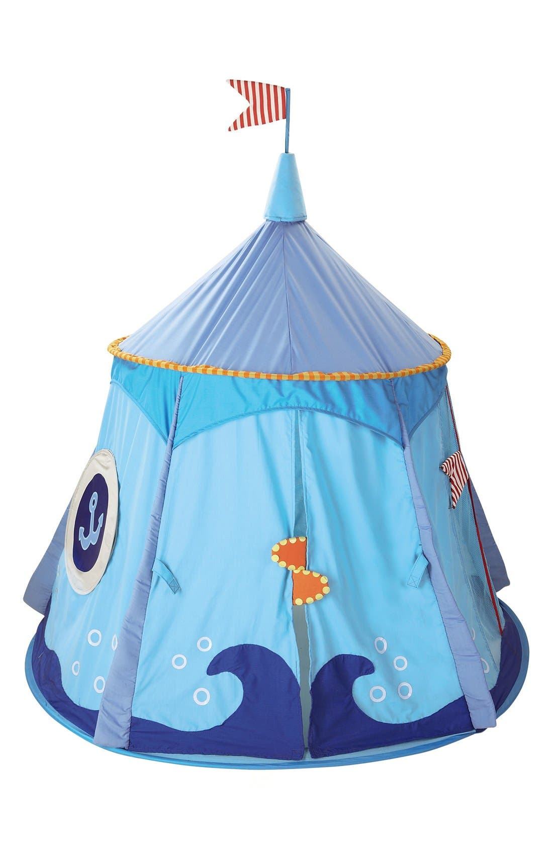 'Pirate's Treasure' Play Tent,                             Alternate thumbnail 2, color,                             BLUE