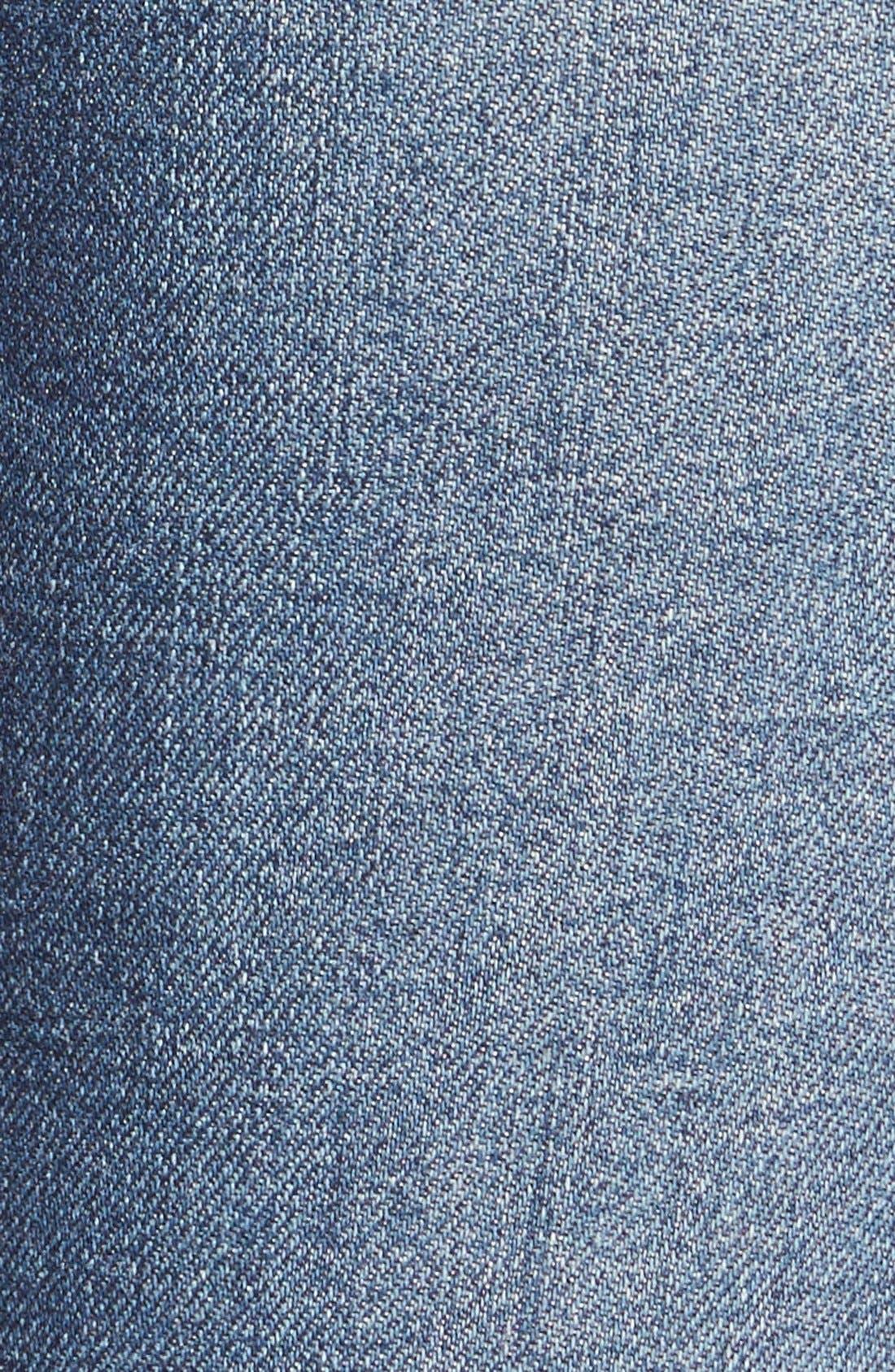 STROM,                             'Tio' Ankle Skinny Jeans,                             Alternate thumbnail 5, color,                             420