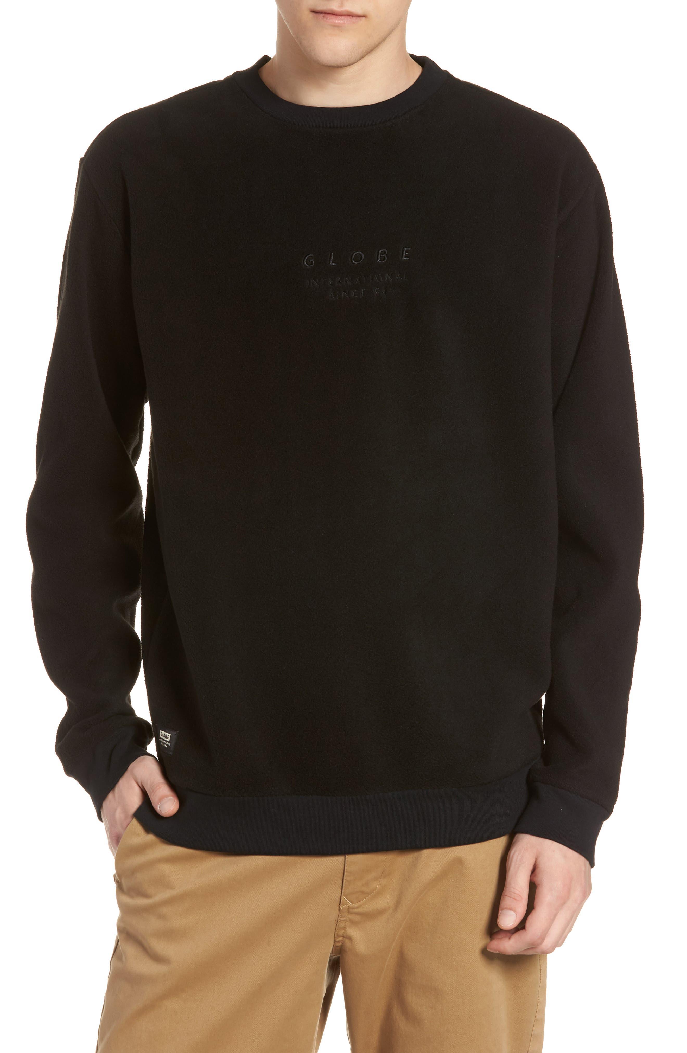 State Sweatshirt,                         Main,                         color, BLACK