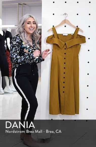 Hudson Cold Shoulder Dress, sales video thumbnail