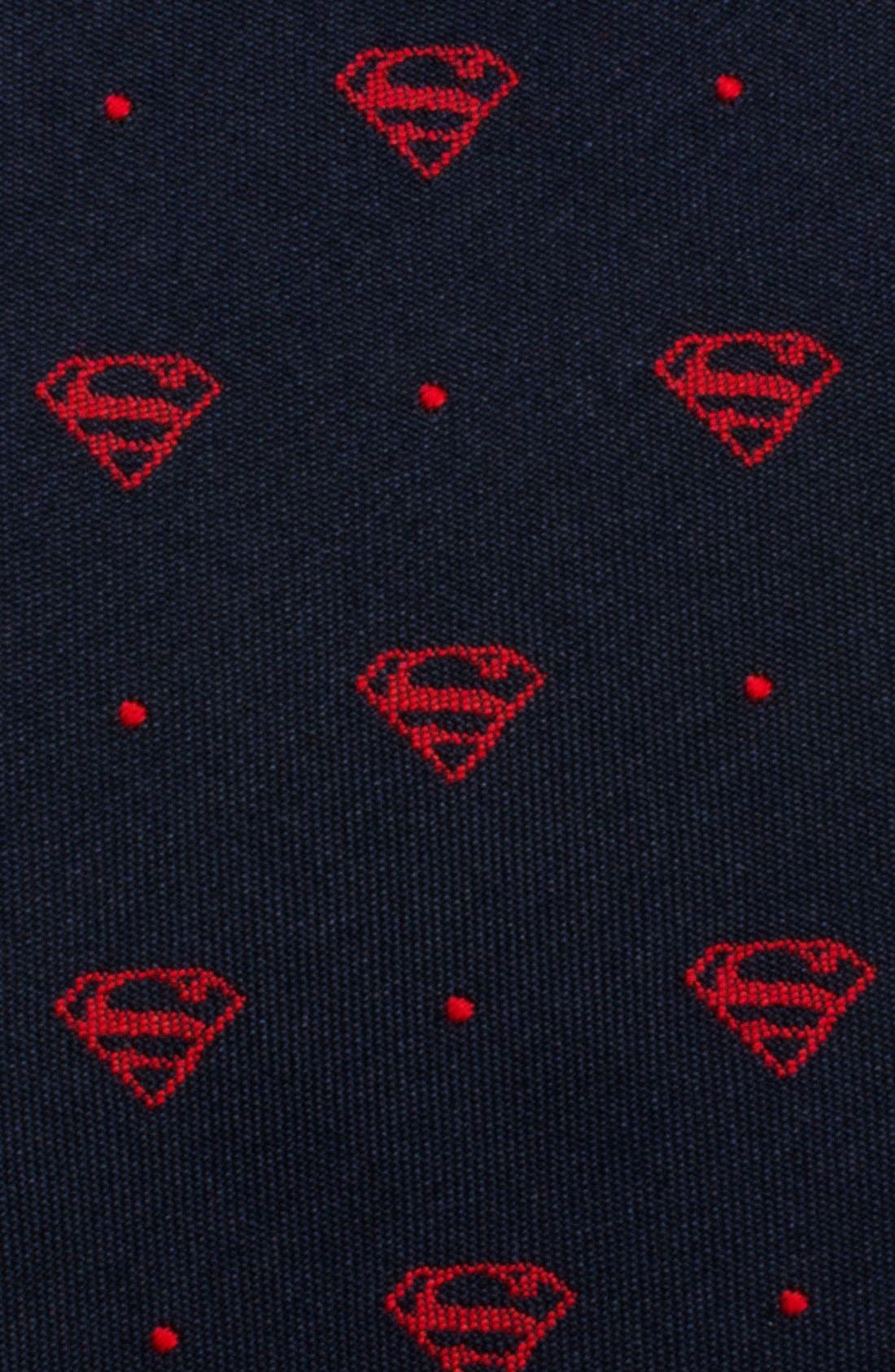 'Superman' Silk Tie,                             Alternate thumbnail 2, color,                             BLUE