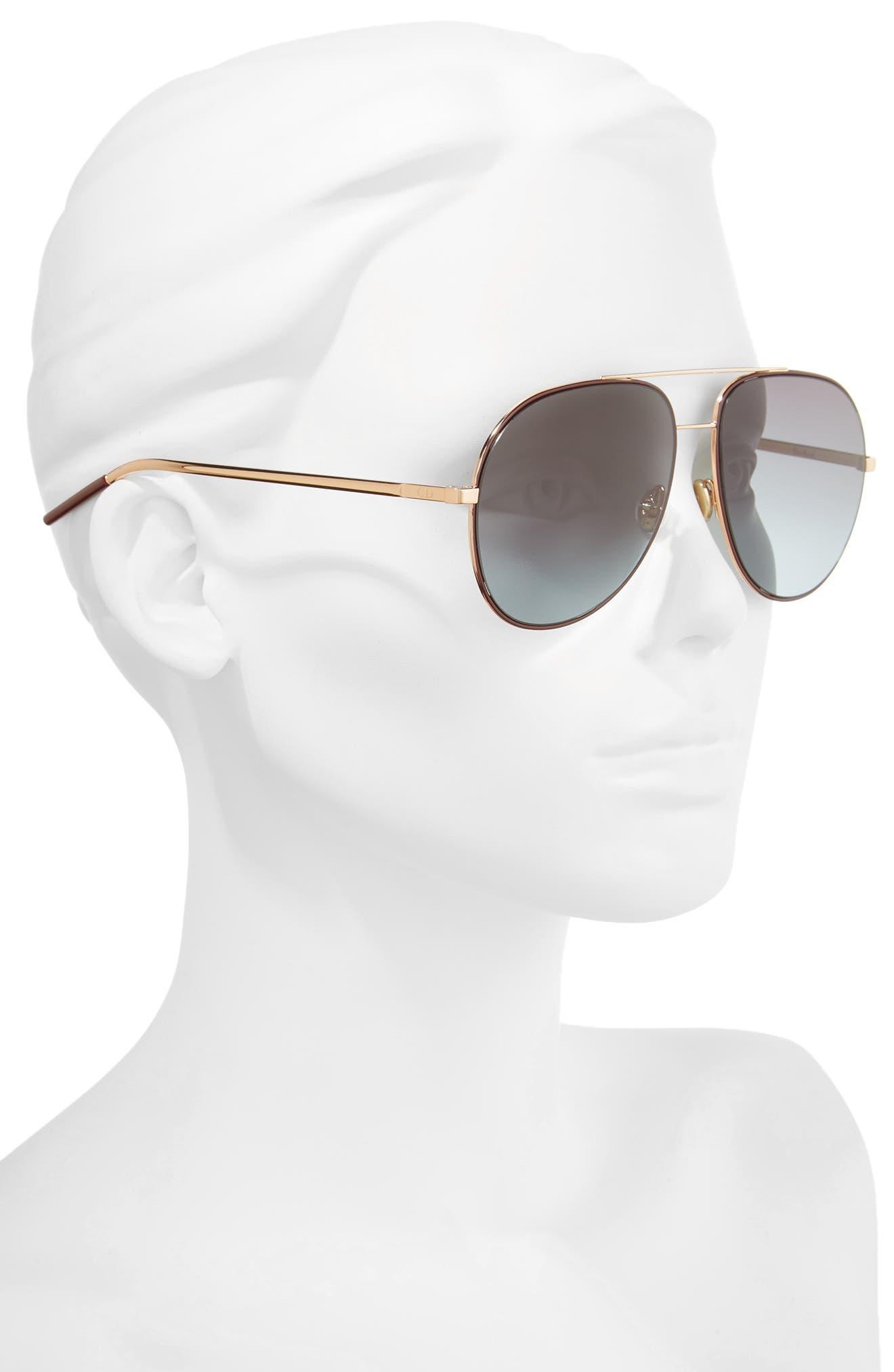 Astrals 59mm Aviator Sunglasses,                             Alternate thumbnail 8, color,