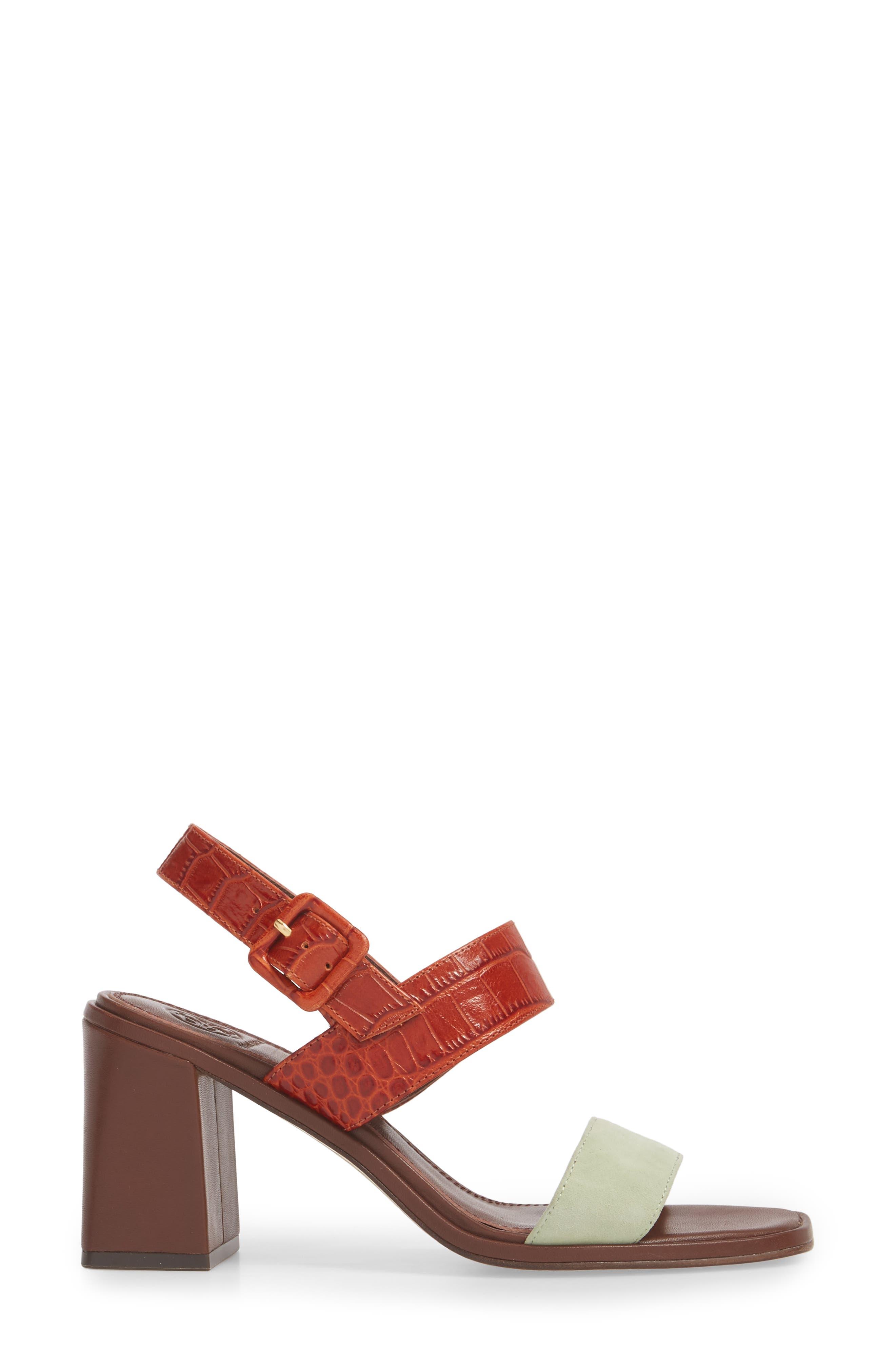Delaney Double Strap Sandal,                             Alternate thumbnail 18, color,