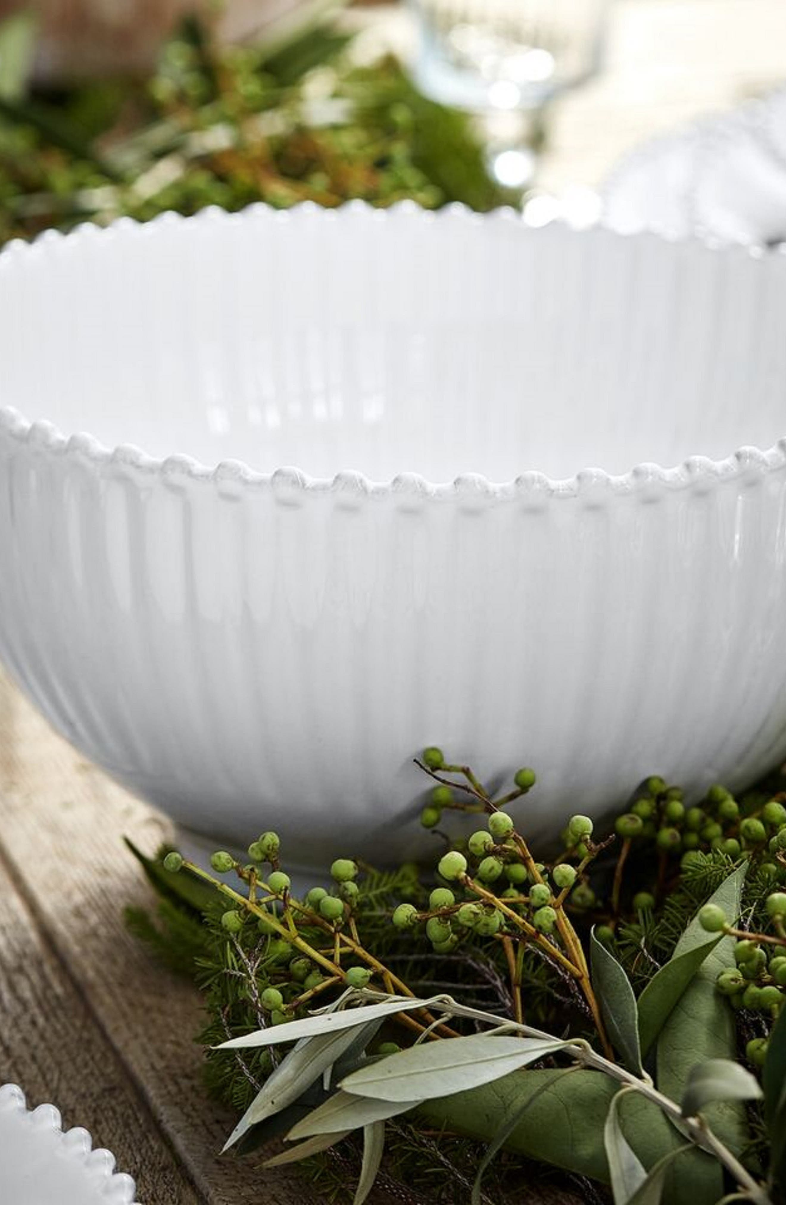 COSTA NOVA,                             Pearl Salad Bowl,                             Alternate thumbnail 2, color,                             WHITE