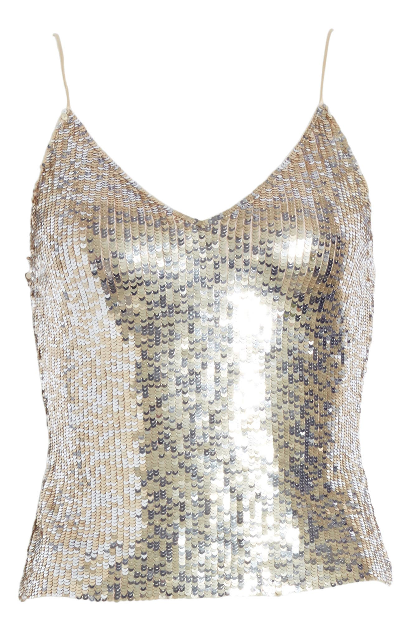 Delray Sequin Embellished Camisole,                             Alternate thumbnail 6, color,                             048