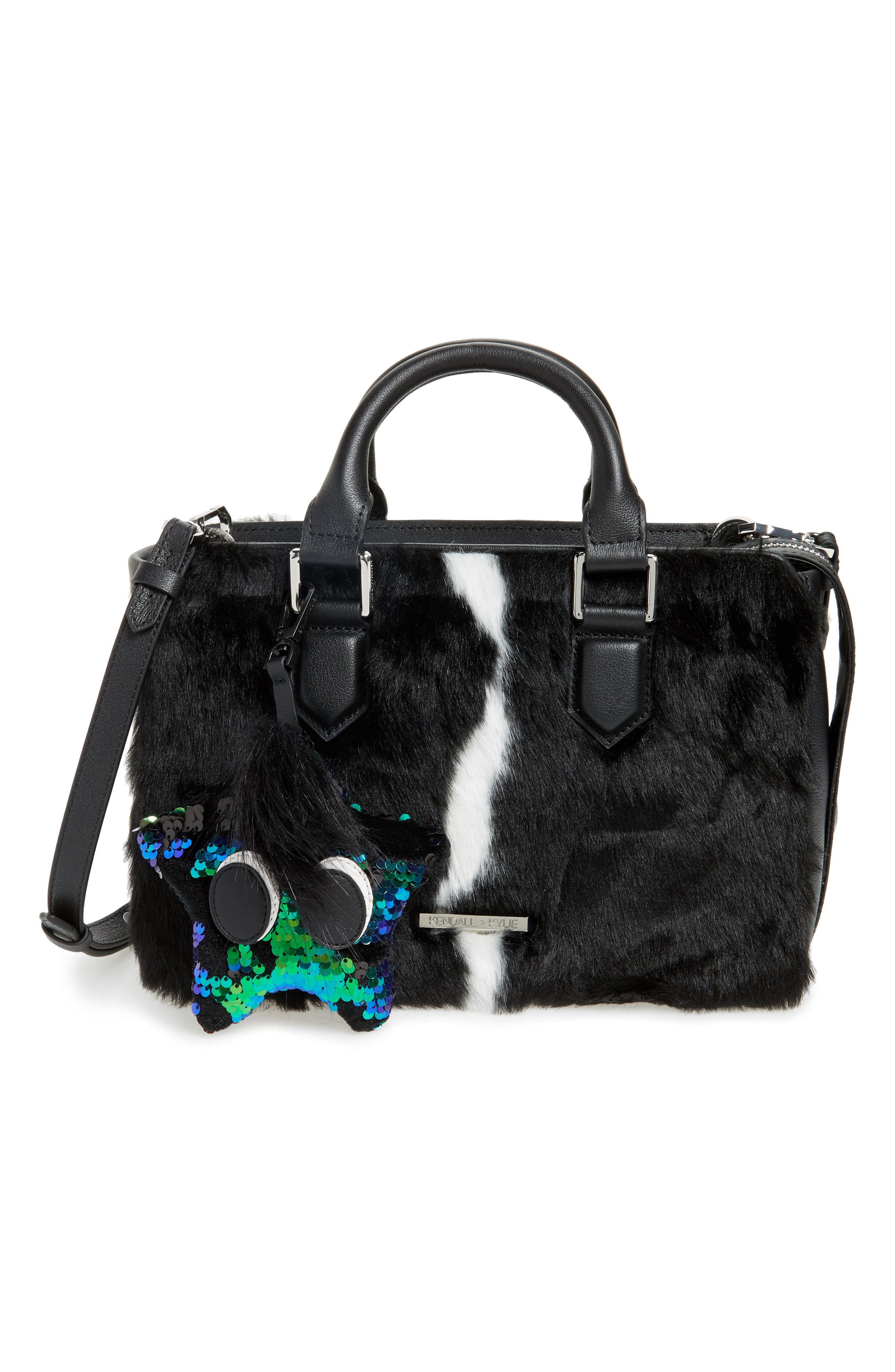 Starboy Sequin Bag Charm,                             Alternate thumbnail 4, color,