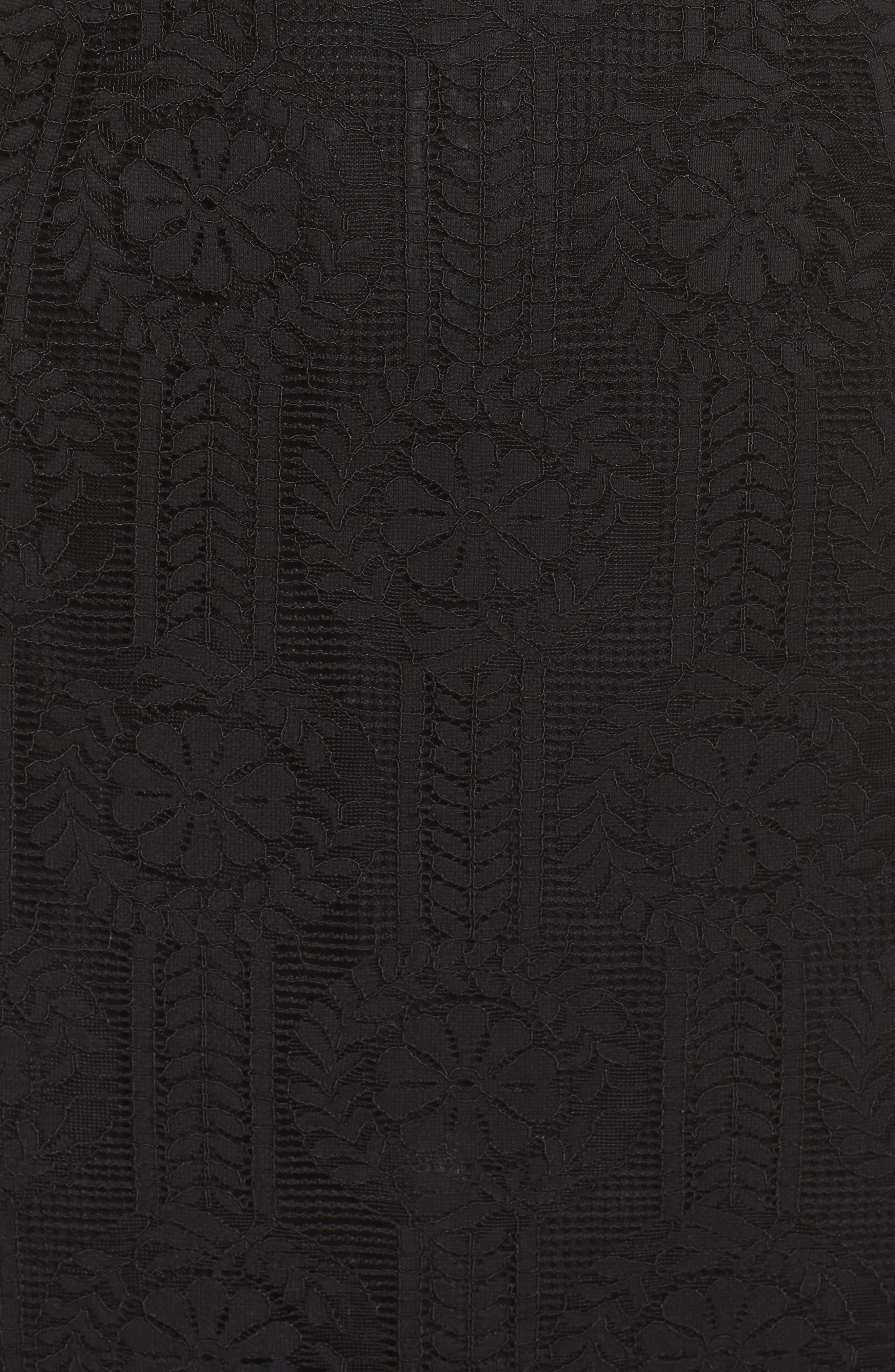Lace Midi Dress,                             Alternate thumbnail 9, color,