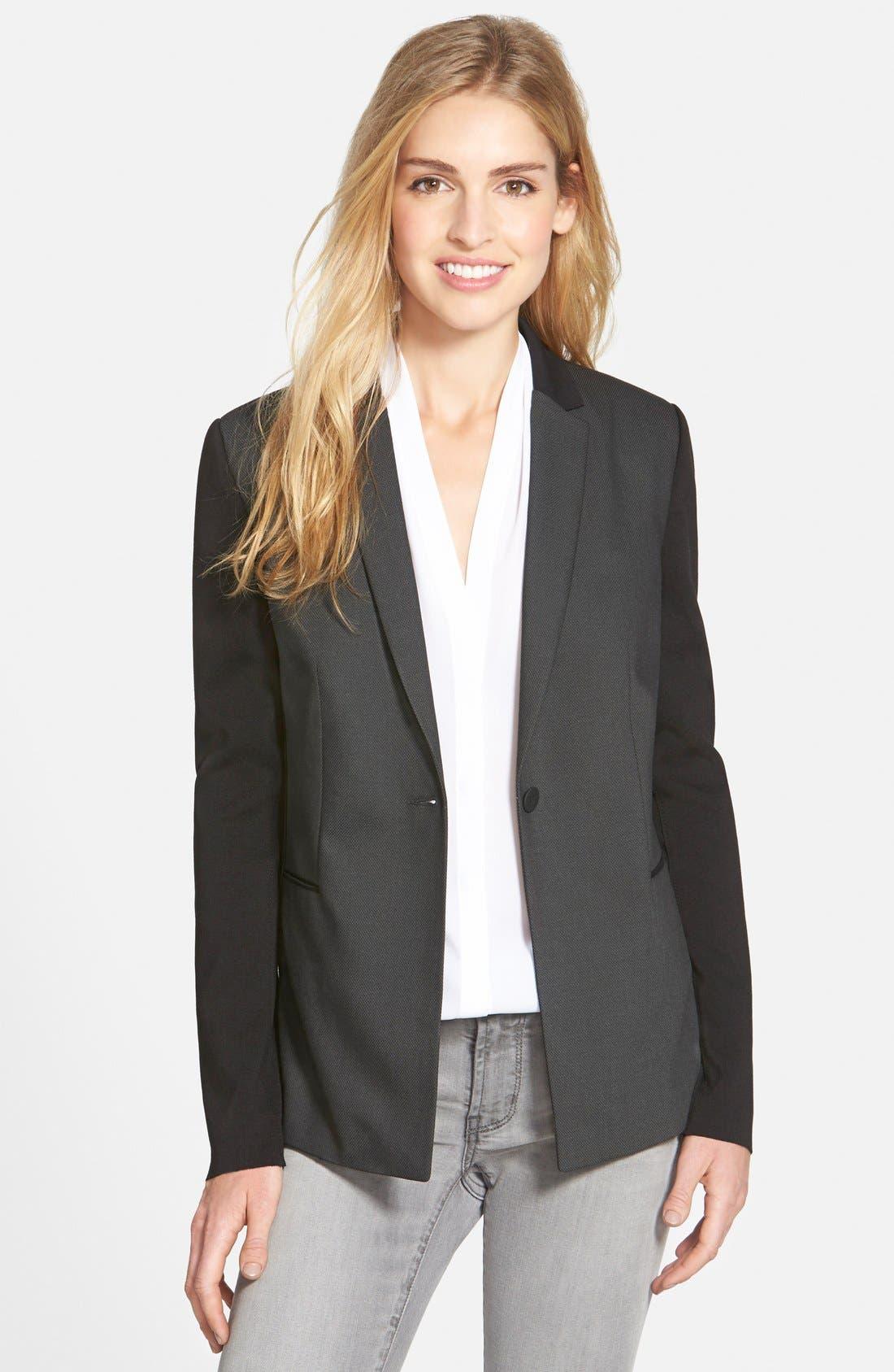 T TAHARI 'Carina' Jacket, Main, color, 021