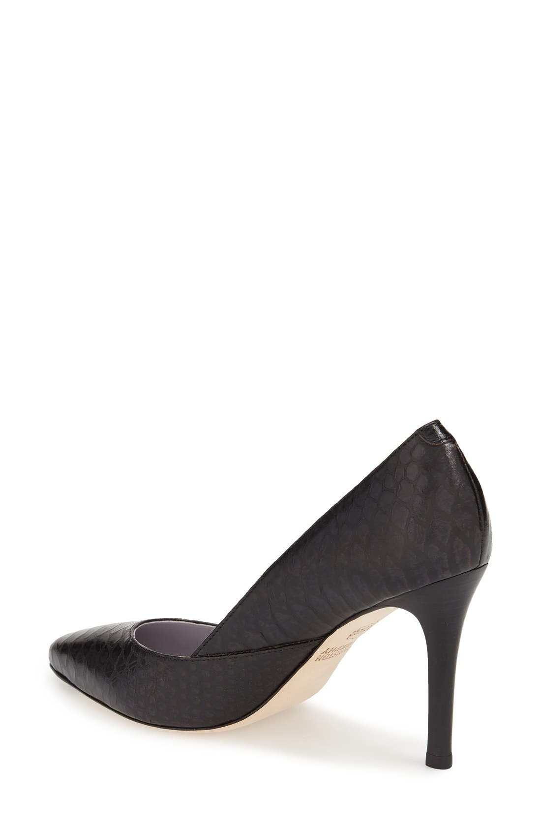 'Vanessa' Pointy Toe Leather Pump,                             Alternate thumbnail 14, color,