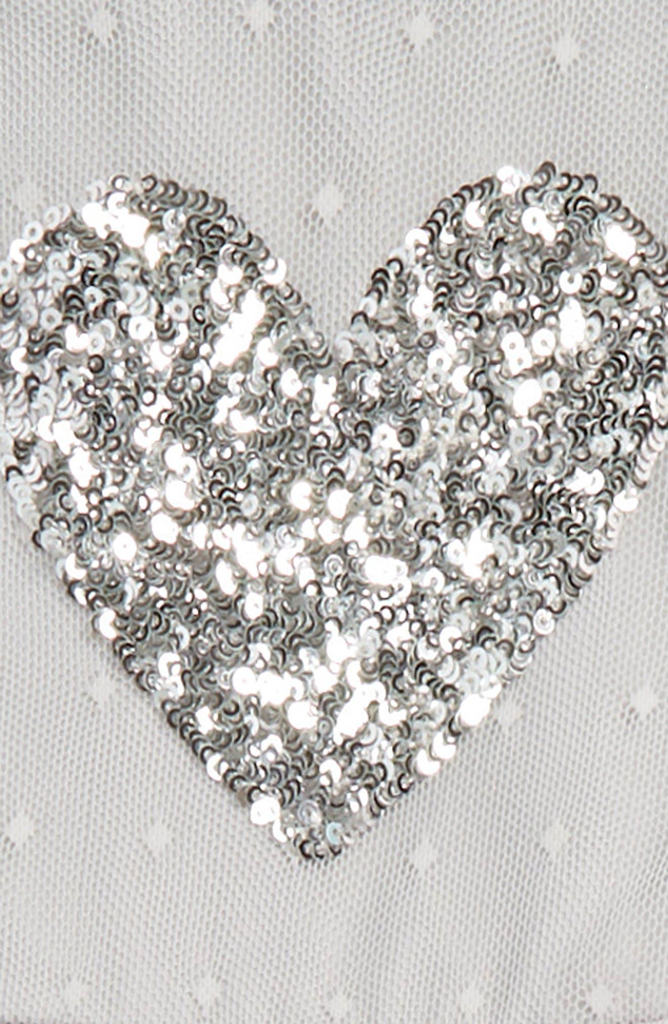 Heart Appliqué Dress,                             Alternate thumbnail 2, color,                             037