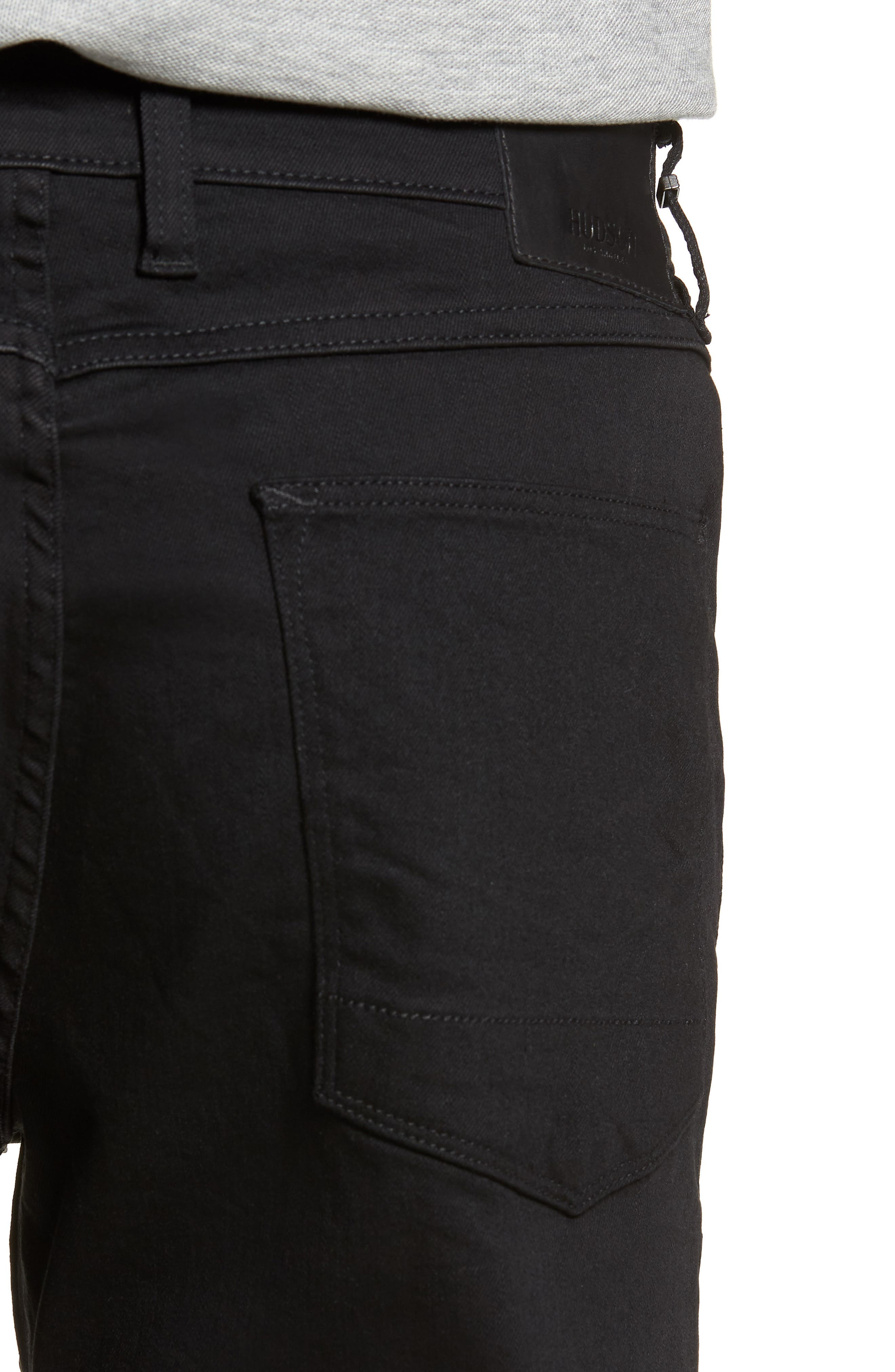 Sartor Slouchy Skinny Fit Jeans,                             Alternate thumbnail 4, color,                             001