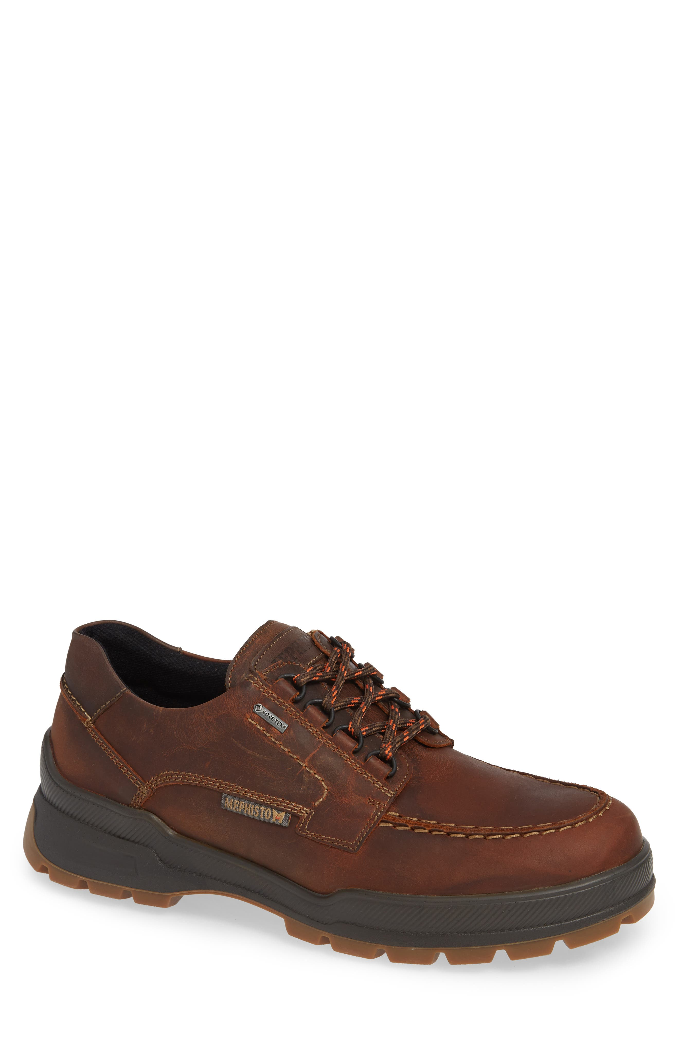 Isak GT Moc Toe Derby,                         Main,                         color, TOBACCO LEATHER