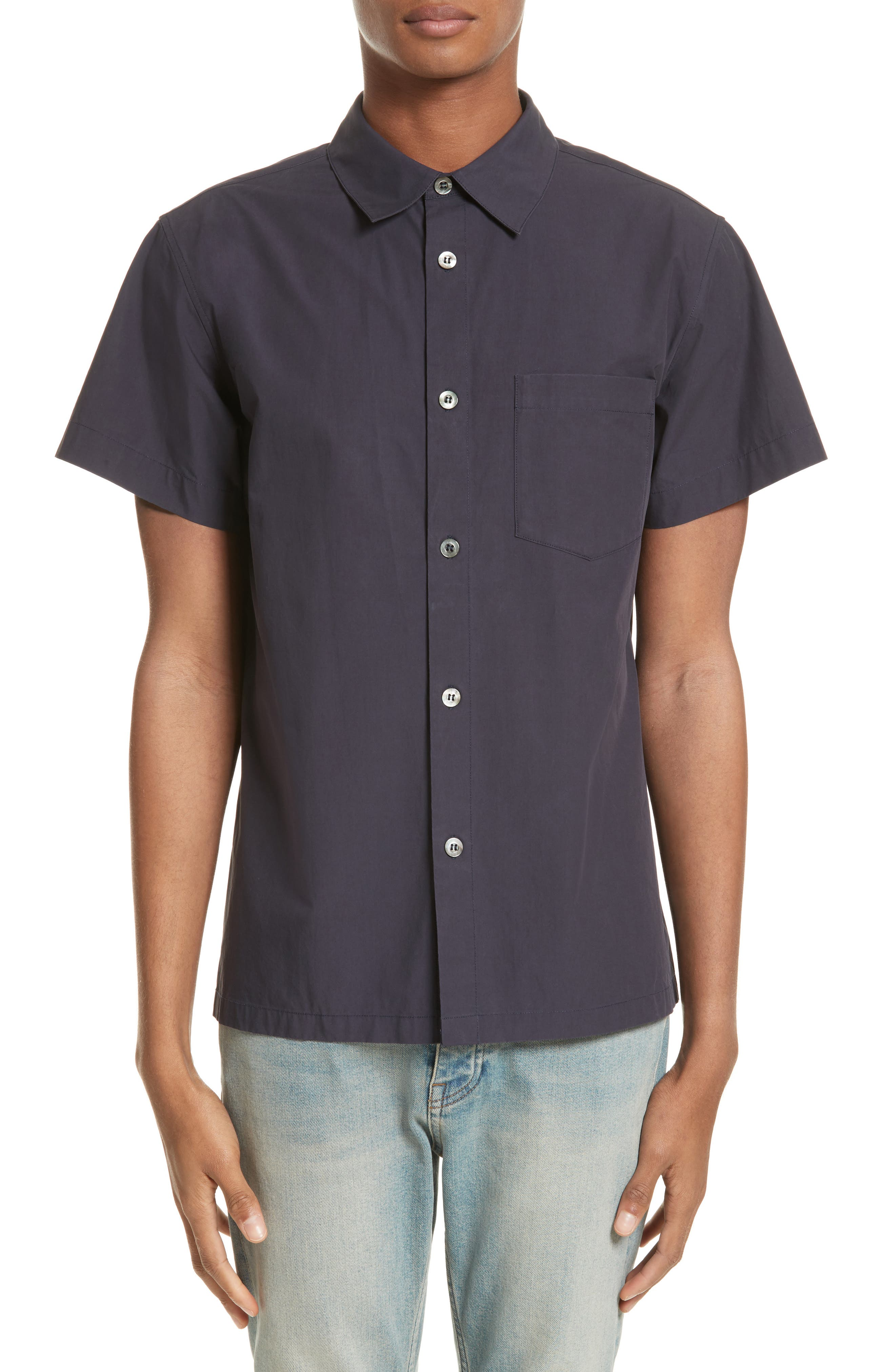 Cippi Poplin Woven Shirt,                         Main,                         color, 410