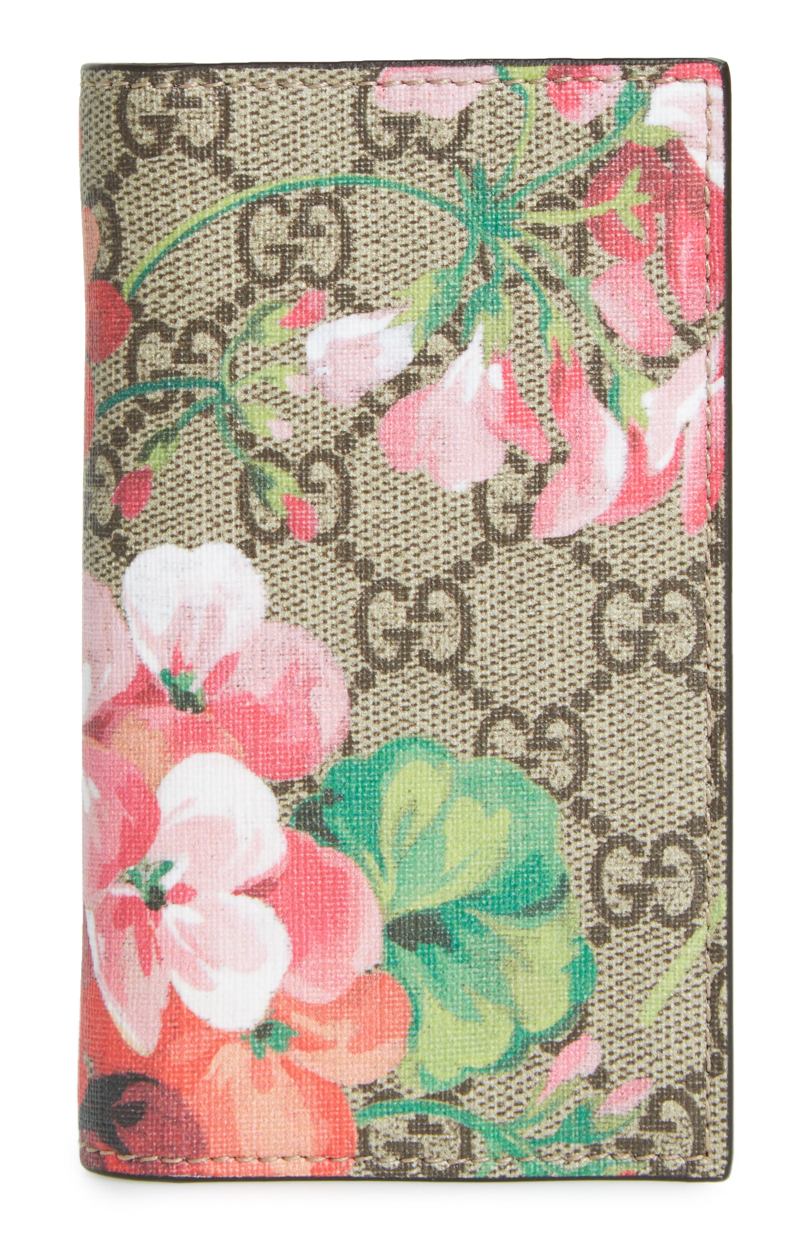 GG Blooms iPhone 7 Folio,                             Main thumbnail 1, color,                             650