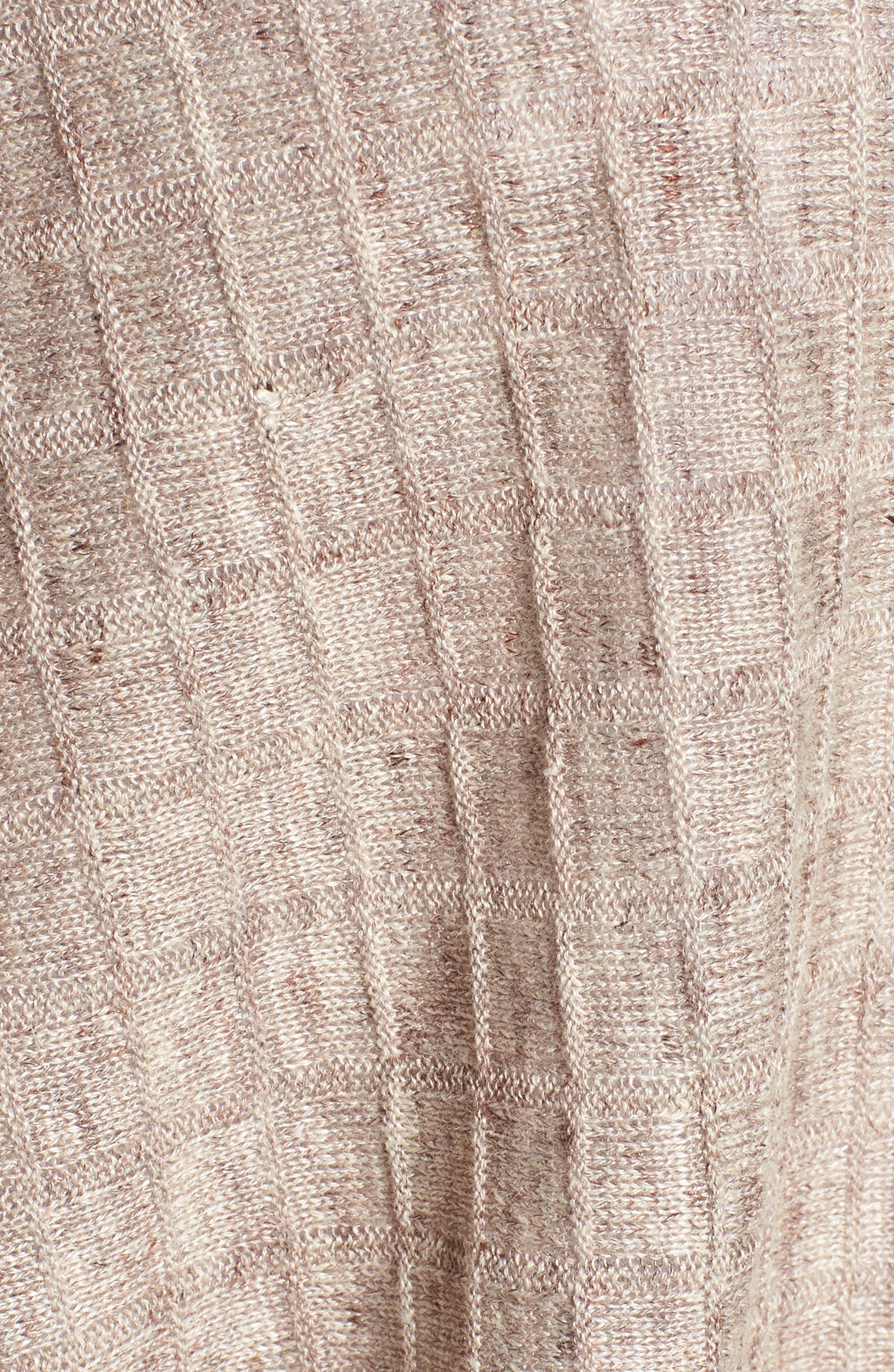 Linen Side Slit Sweater,                             Alternate thumbnail 5, color,                             250