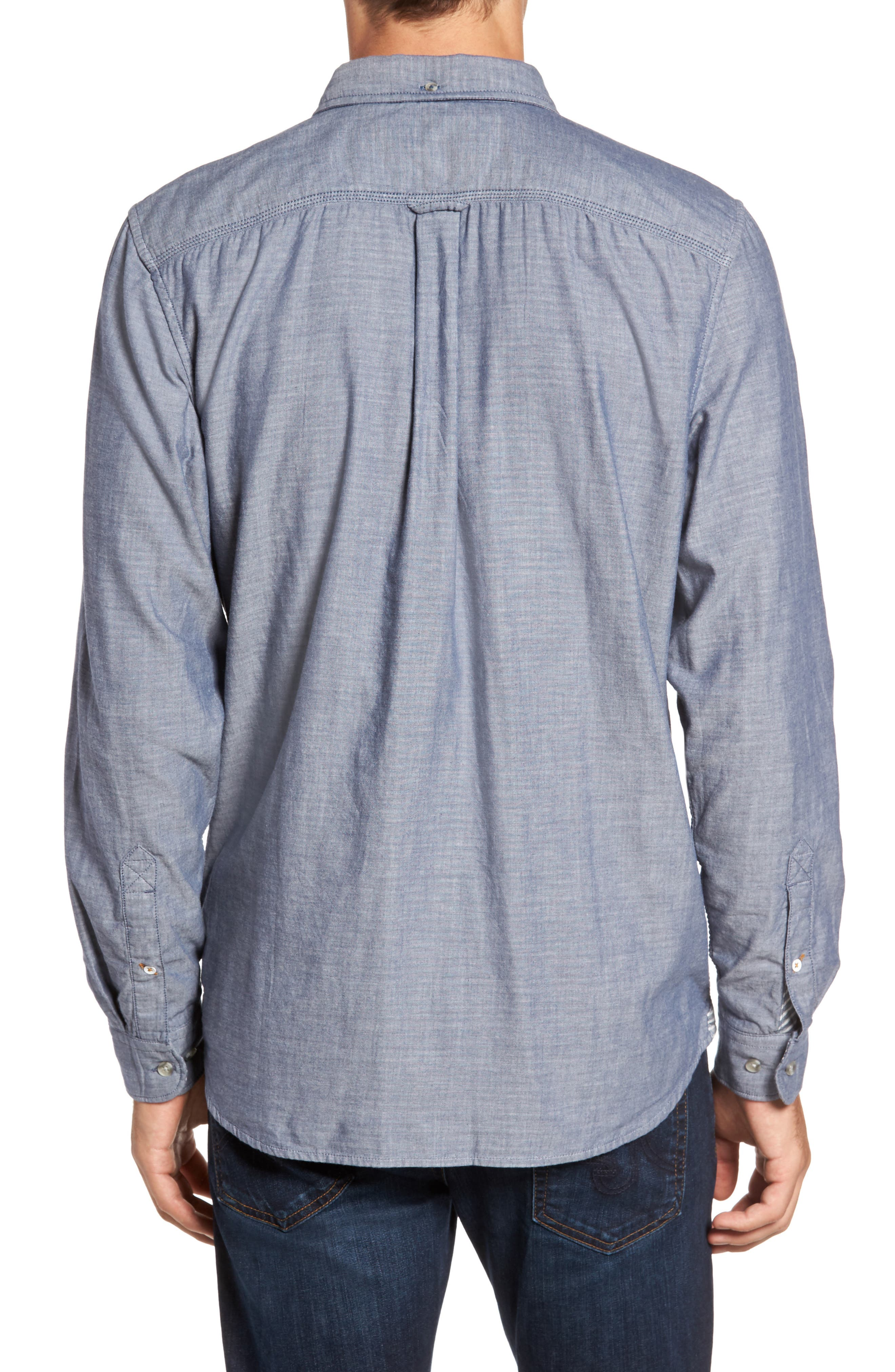 Branch River Double Layer Sport Shirt,                             Alternate thumbnail 2, color,                             420