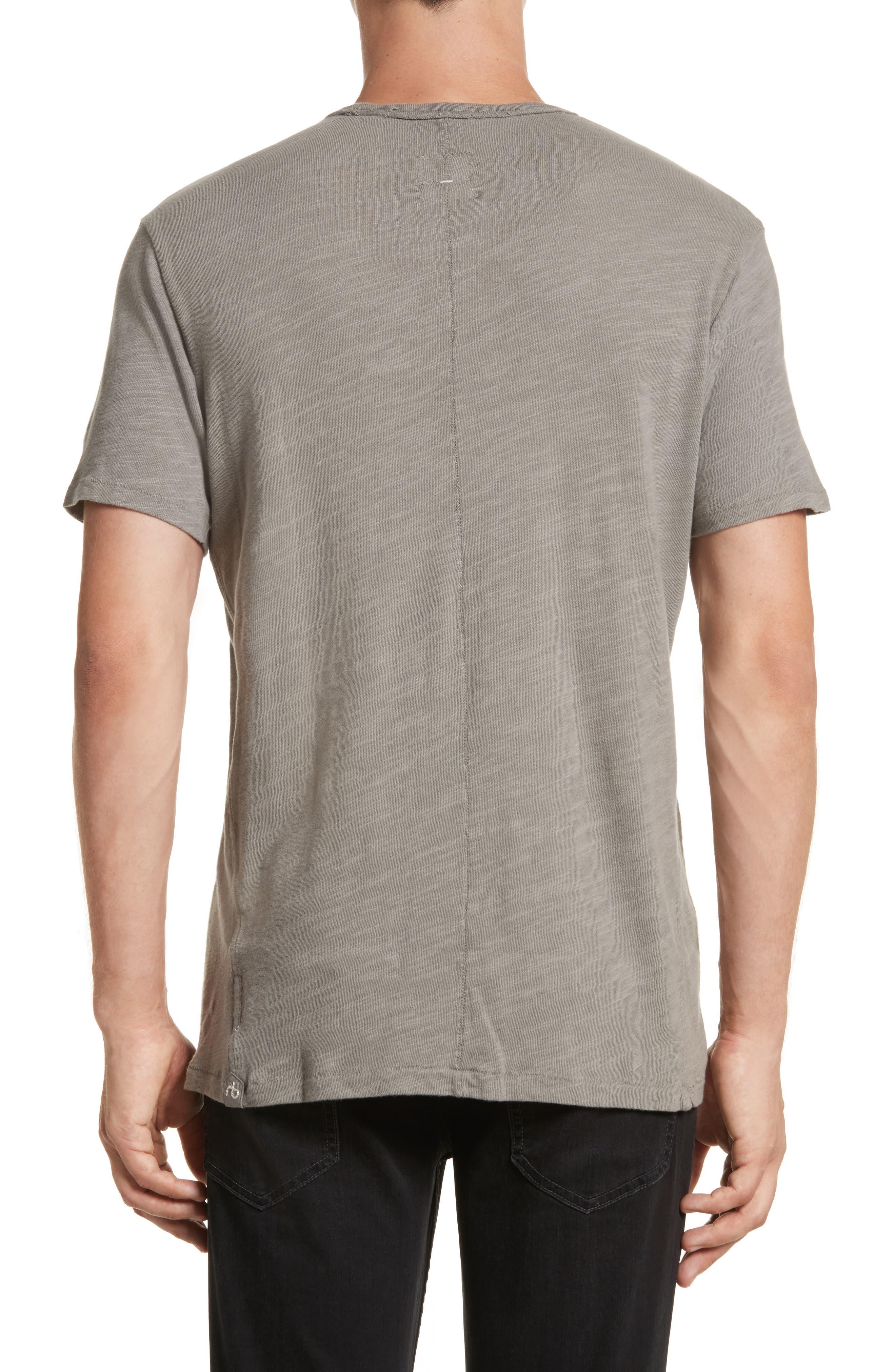 Standard Issue Slubbed Cotton T-Shirt,                             Alternate thumbnail 2, color,                             010