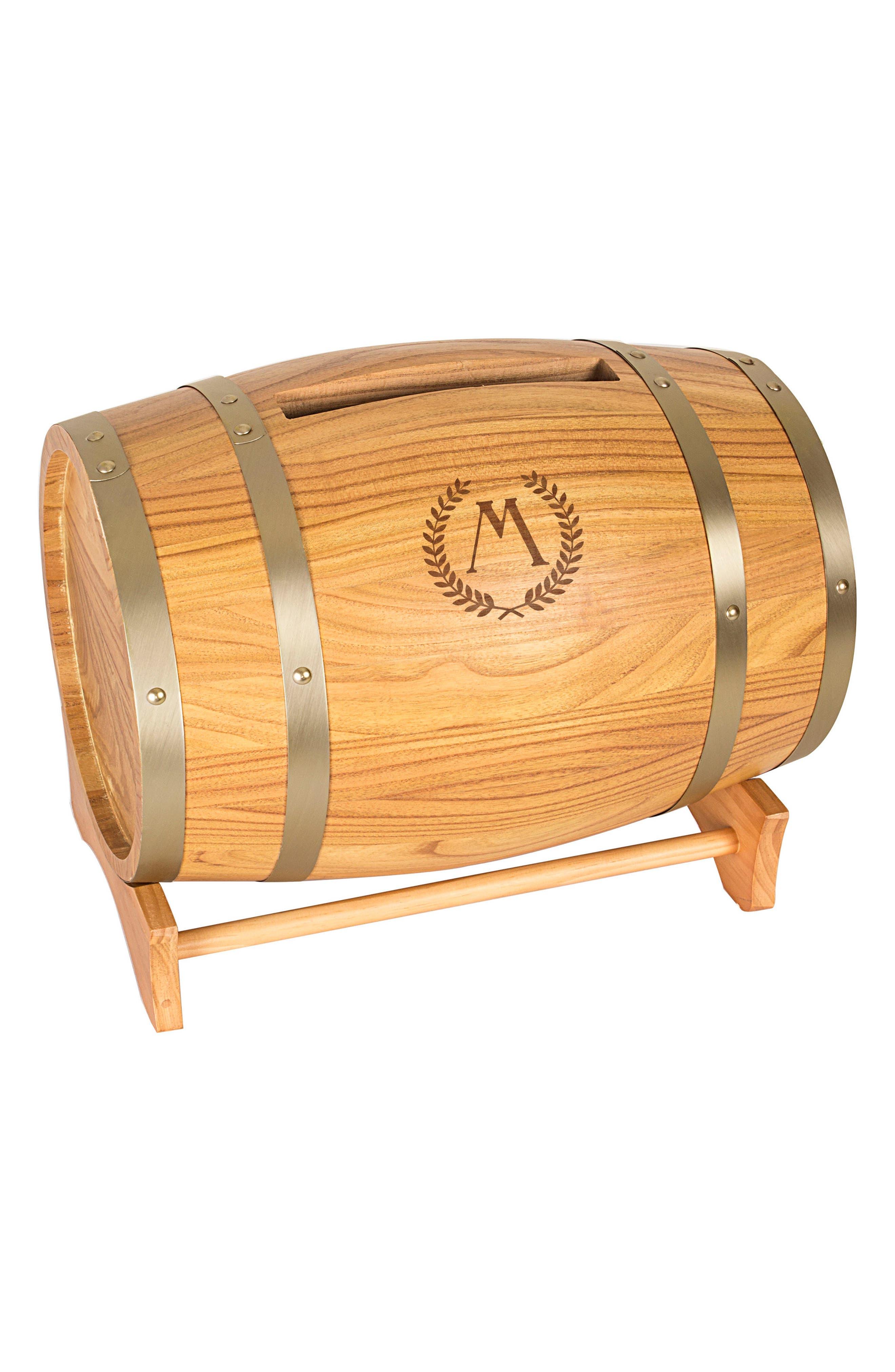 Wine Barrel Reception Card Holder,                             Main thumbnail 12, color,