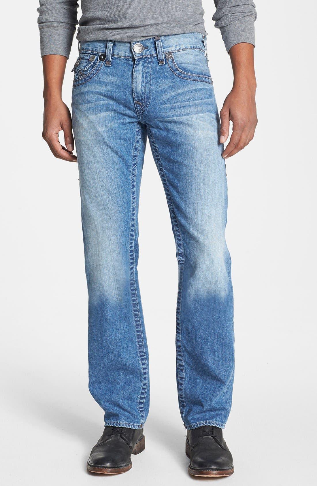 'Ricky' Straight Leg Jeans,                             Alternate thumbnail 2, color,                             400