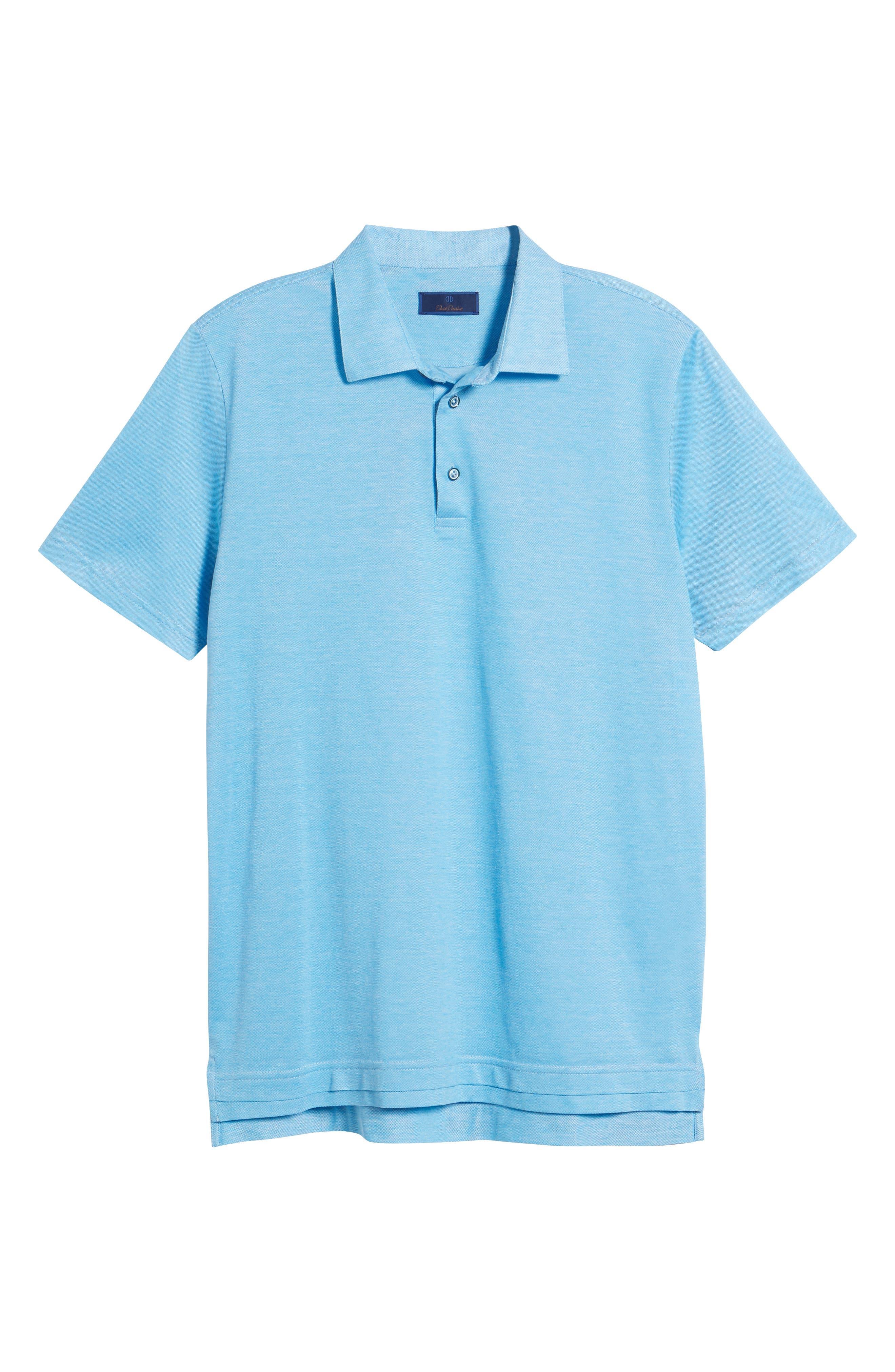 Cotton Polo,                             Alternate thumbnail 6, color,
