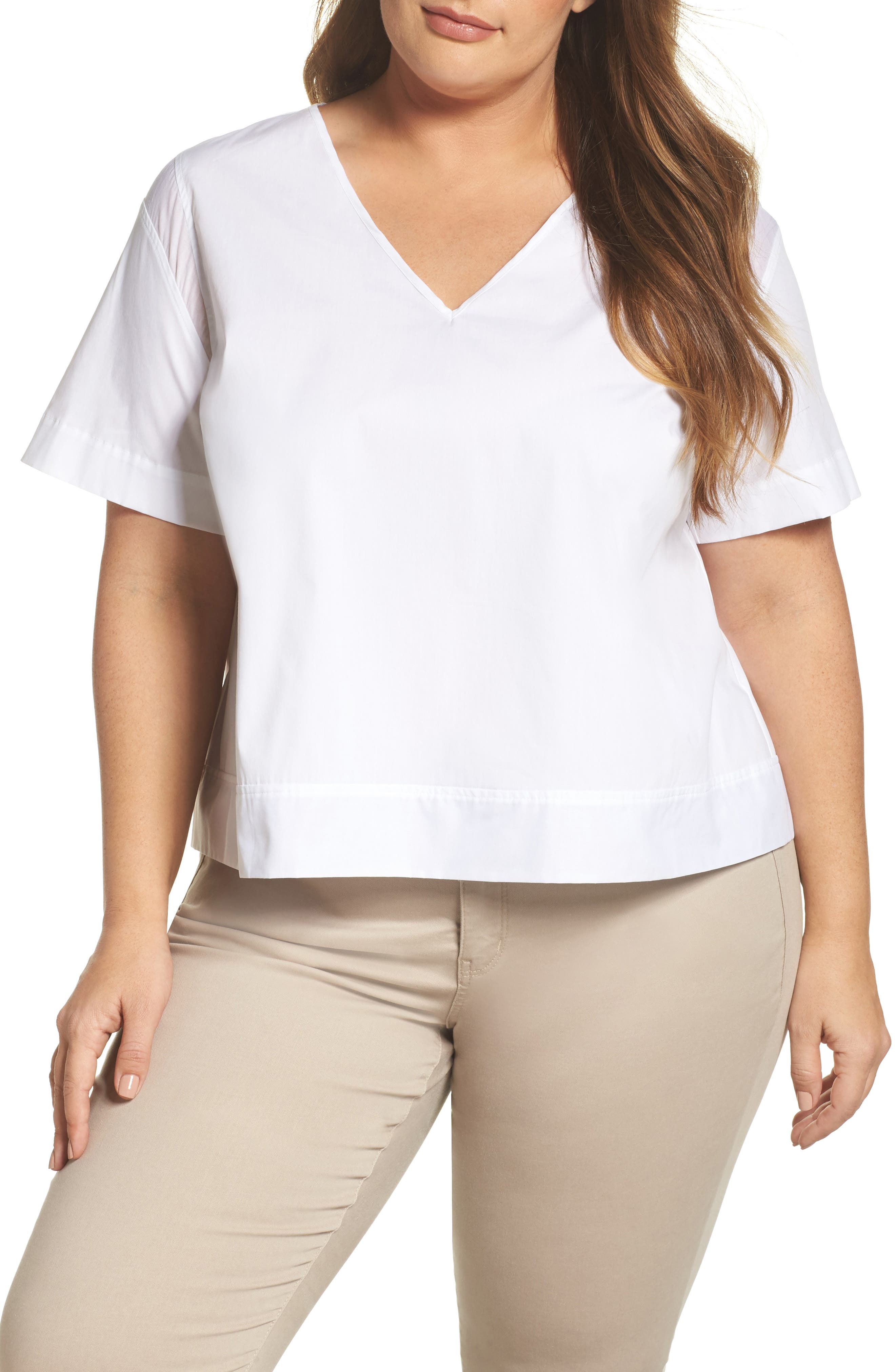 Boxy Popover Top,                             Main thumbnail 1, color,